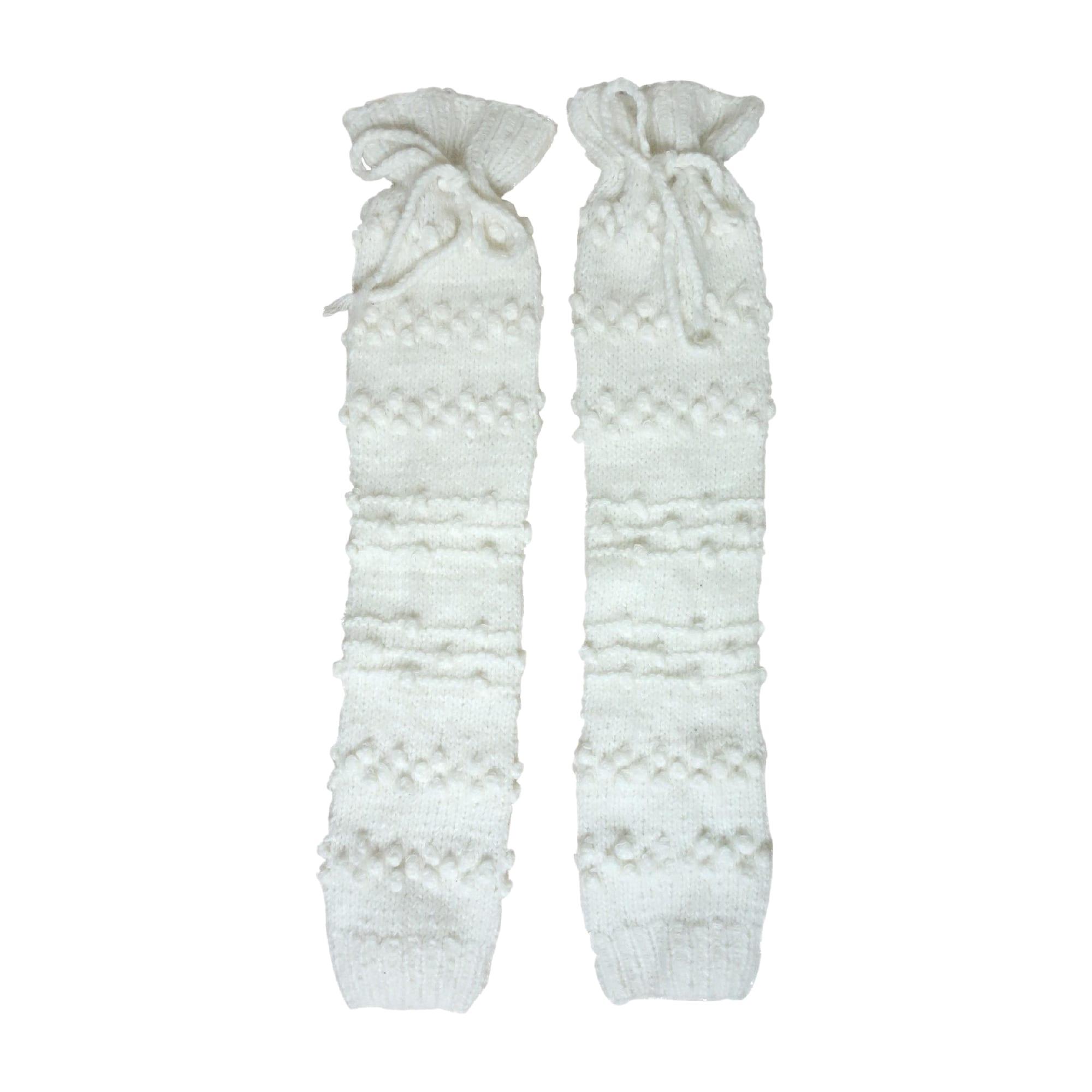 Chausettes genoux PAUL & JOE Blanc, blanc cassé, écru