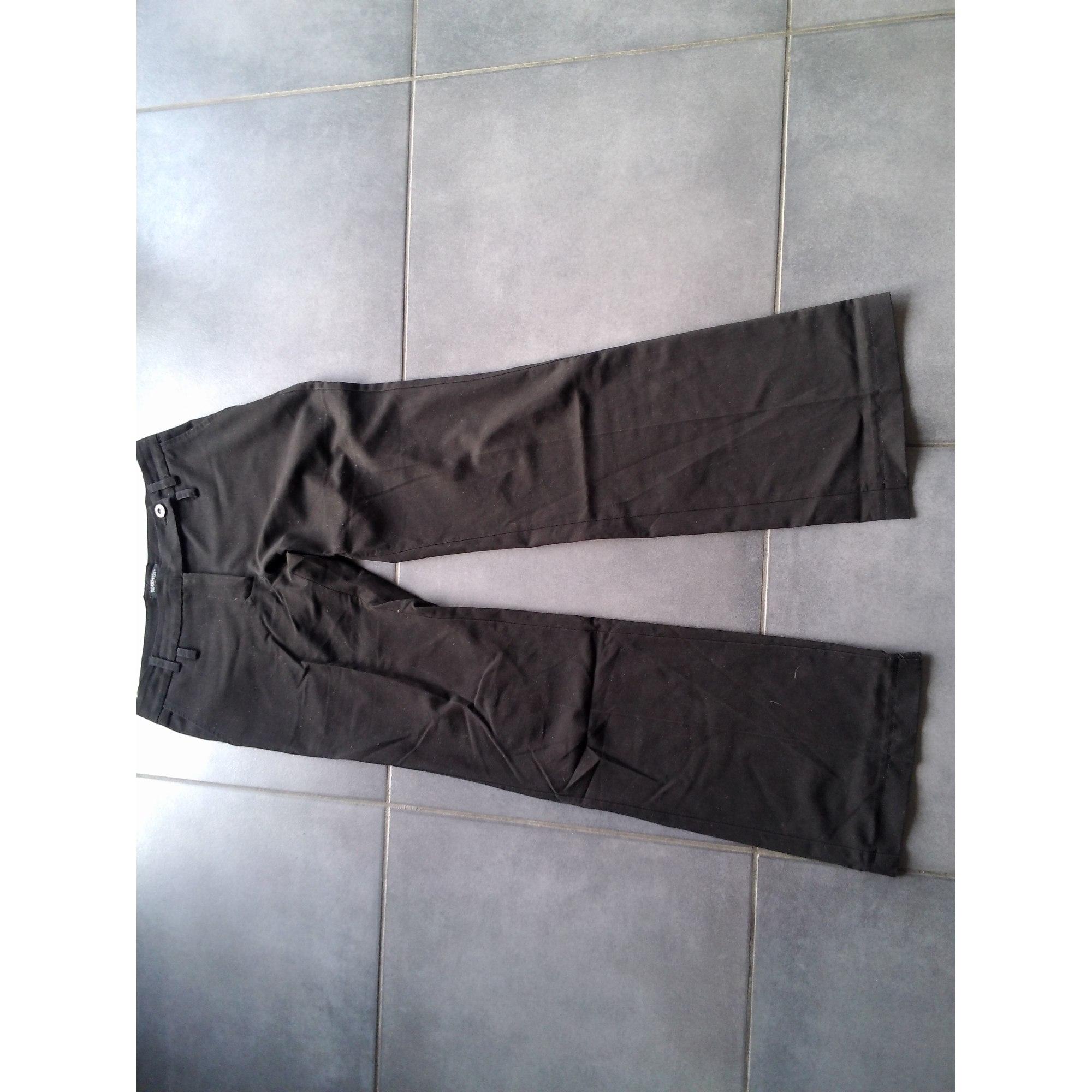 Pantalon droit SUD EXPRESS Noir