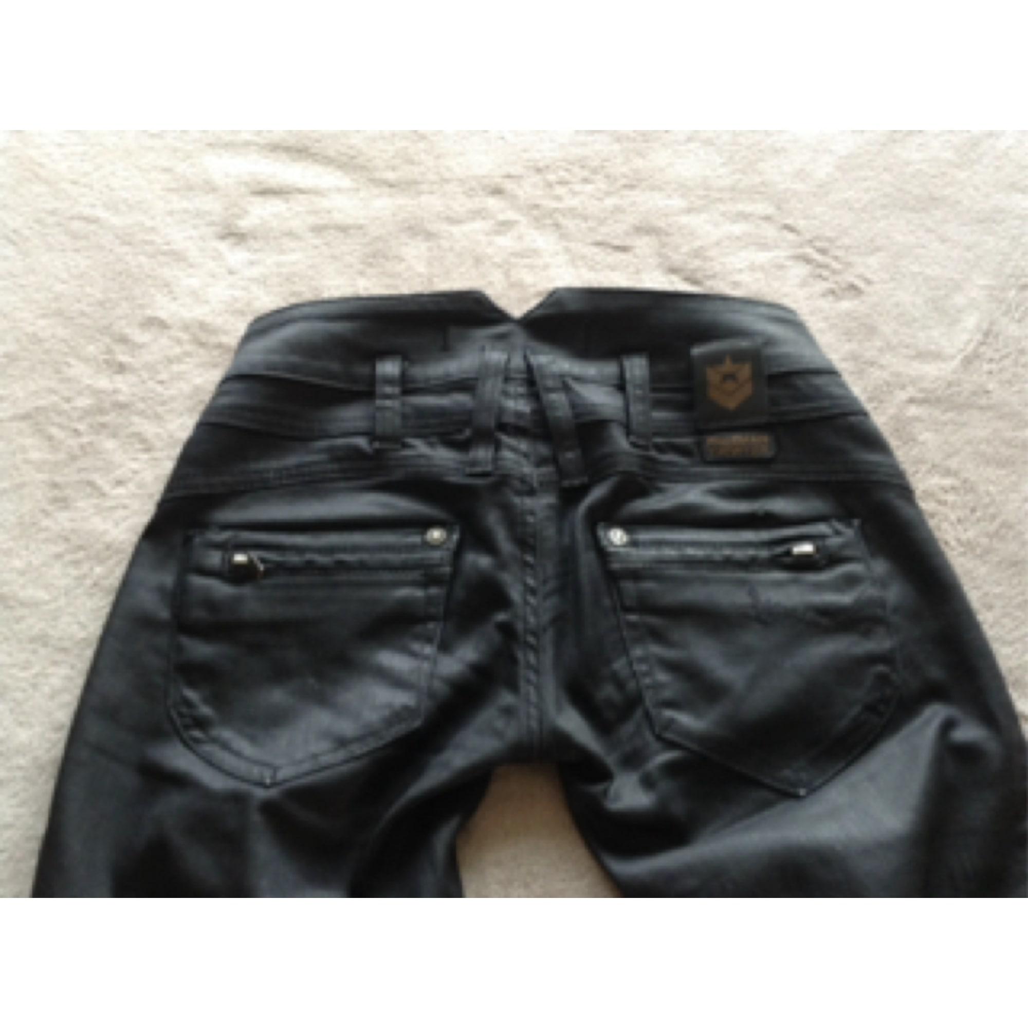 Pantalon droit FREEMAN T PORTER Noir