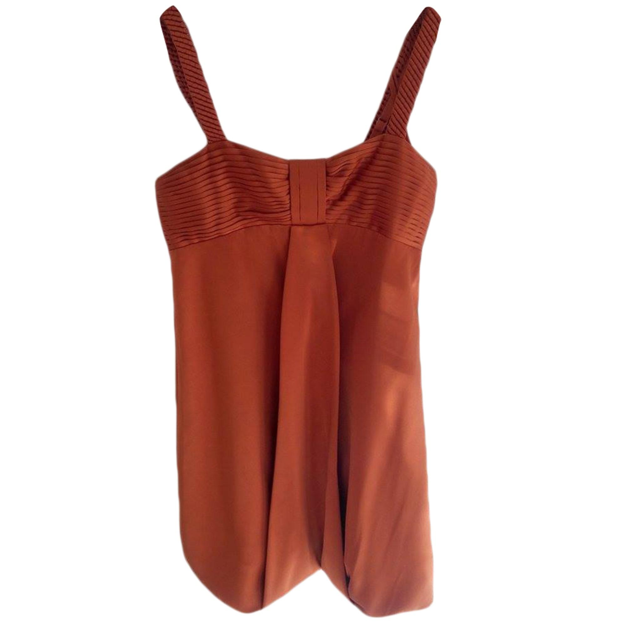 Robe courte BCBG MAX AZRIA Orange