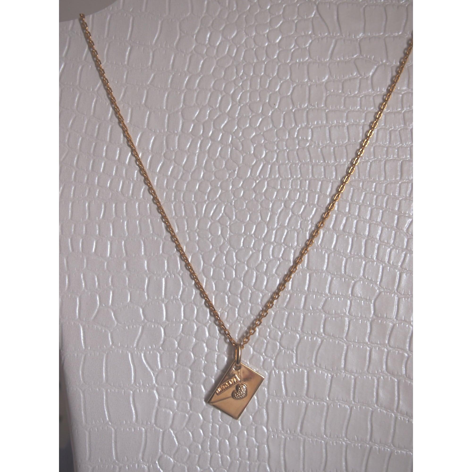 Collier GL PARIS Doré, bronze, cuivre