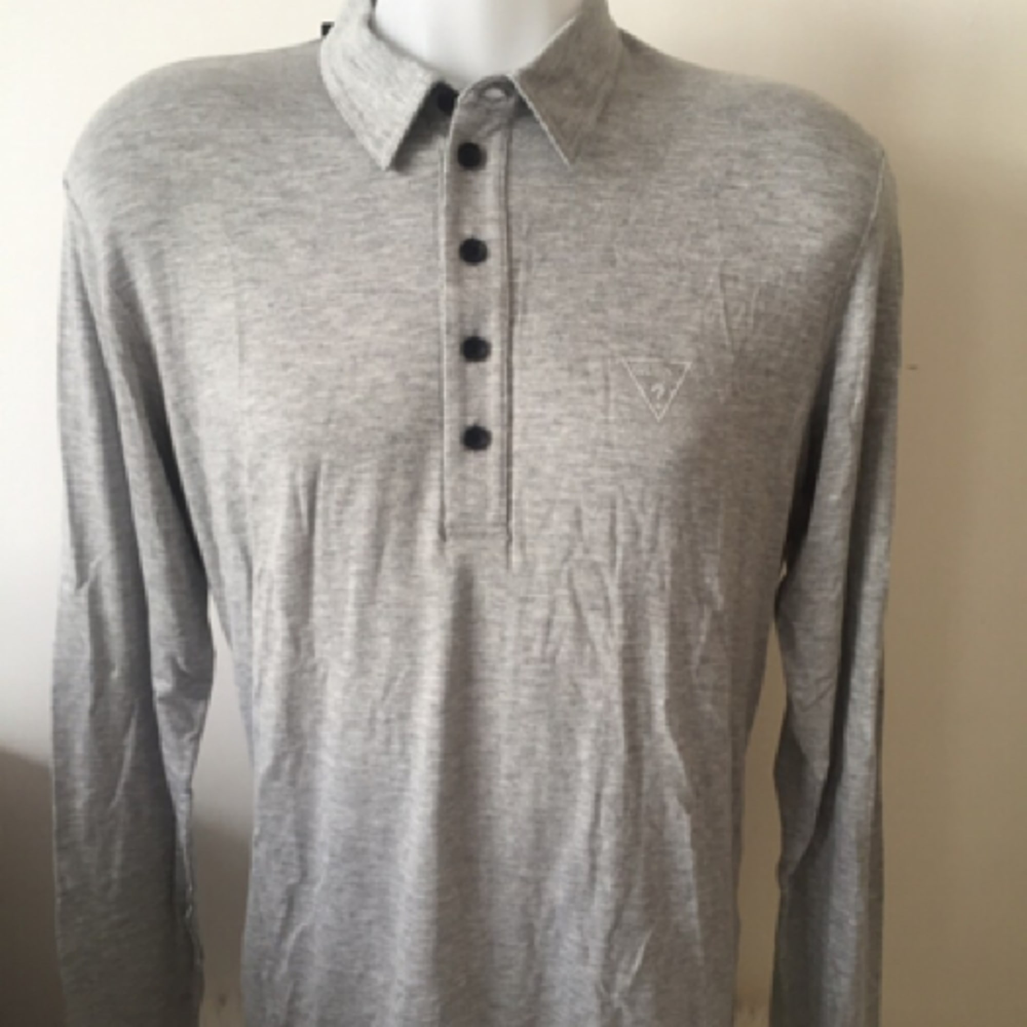 Polo GUESS Gris, anthracite