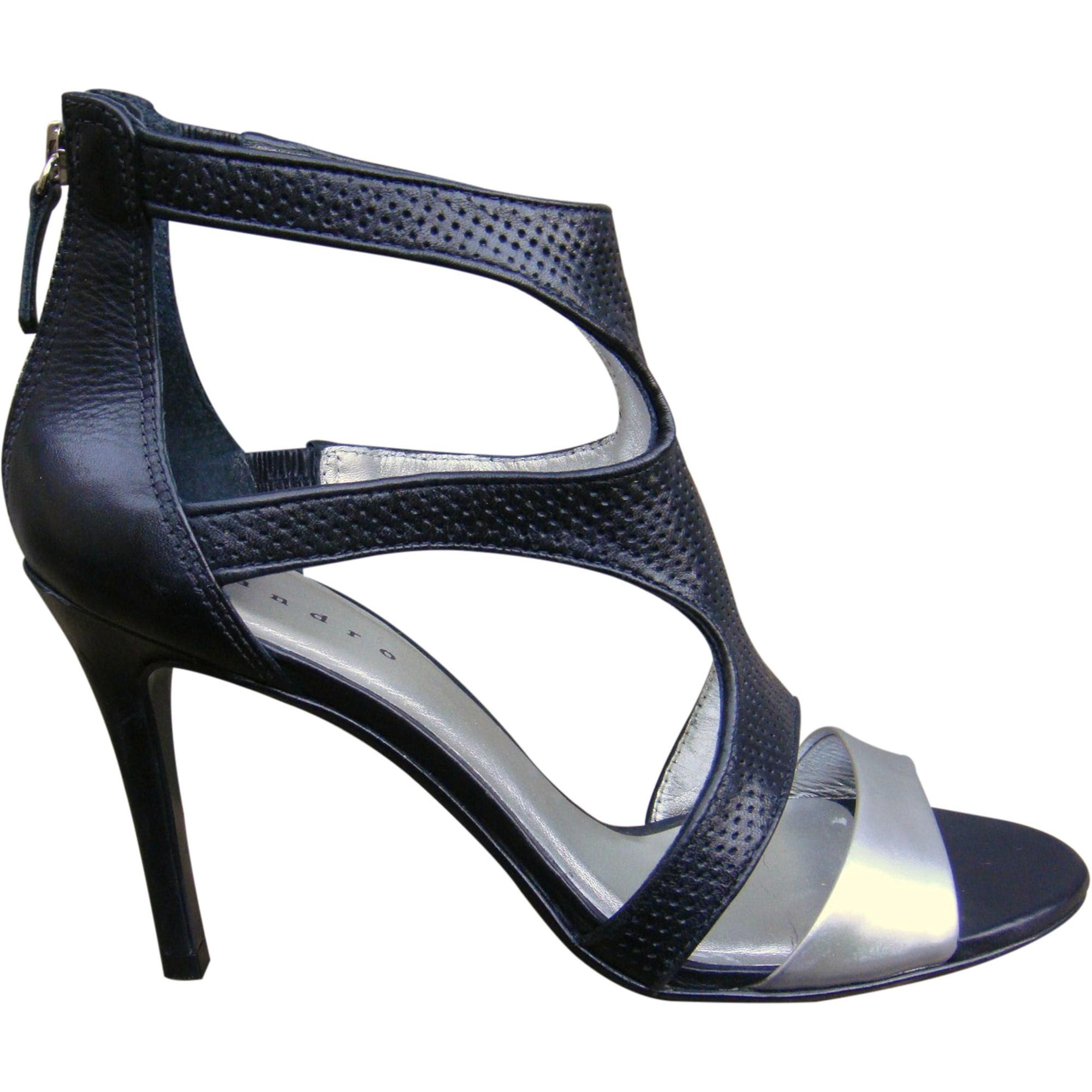 Sandales à talons SANDRO Noir