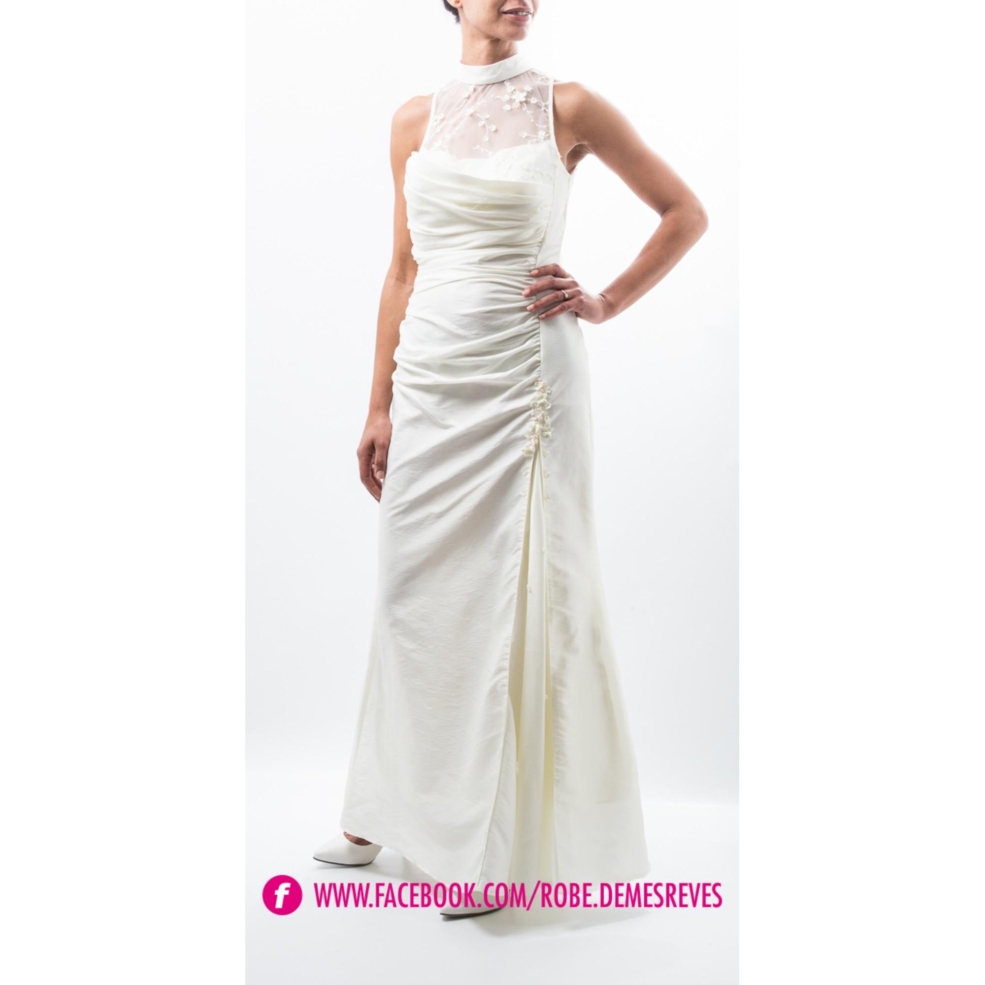 Robe de mariée CRÉATIF PARIS 38 (M, T2) blanc