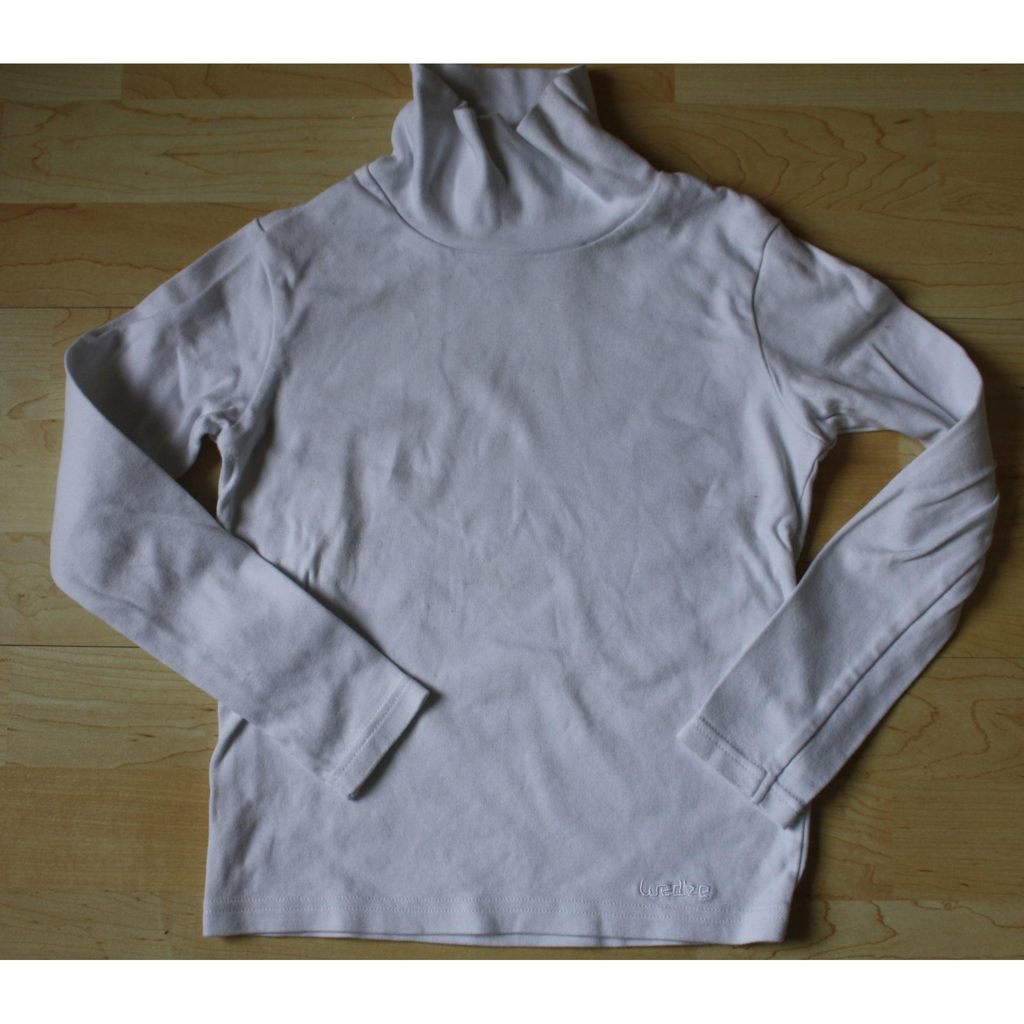 Tee-shirt OXYLANE Blanc, blanc cassé, écru