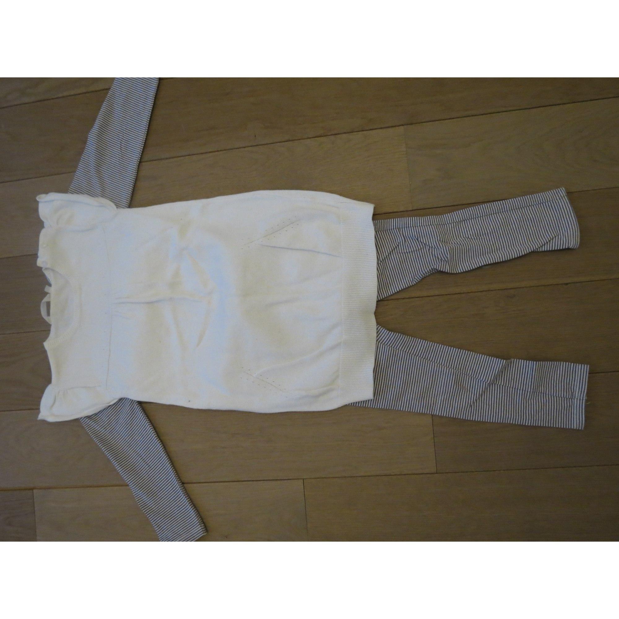 Ensemble & Combinaison pantalon KIABI Blanc, blanc cassé, écru