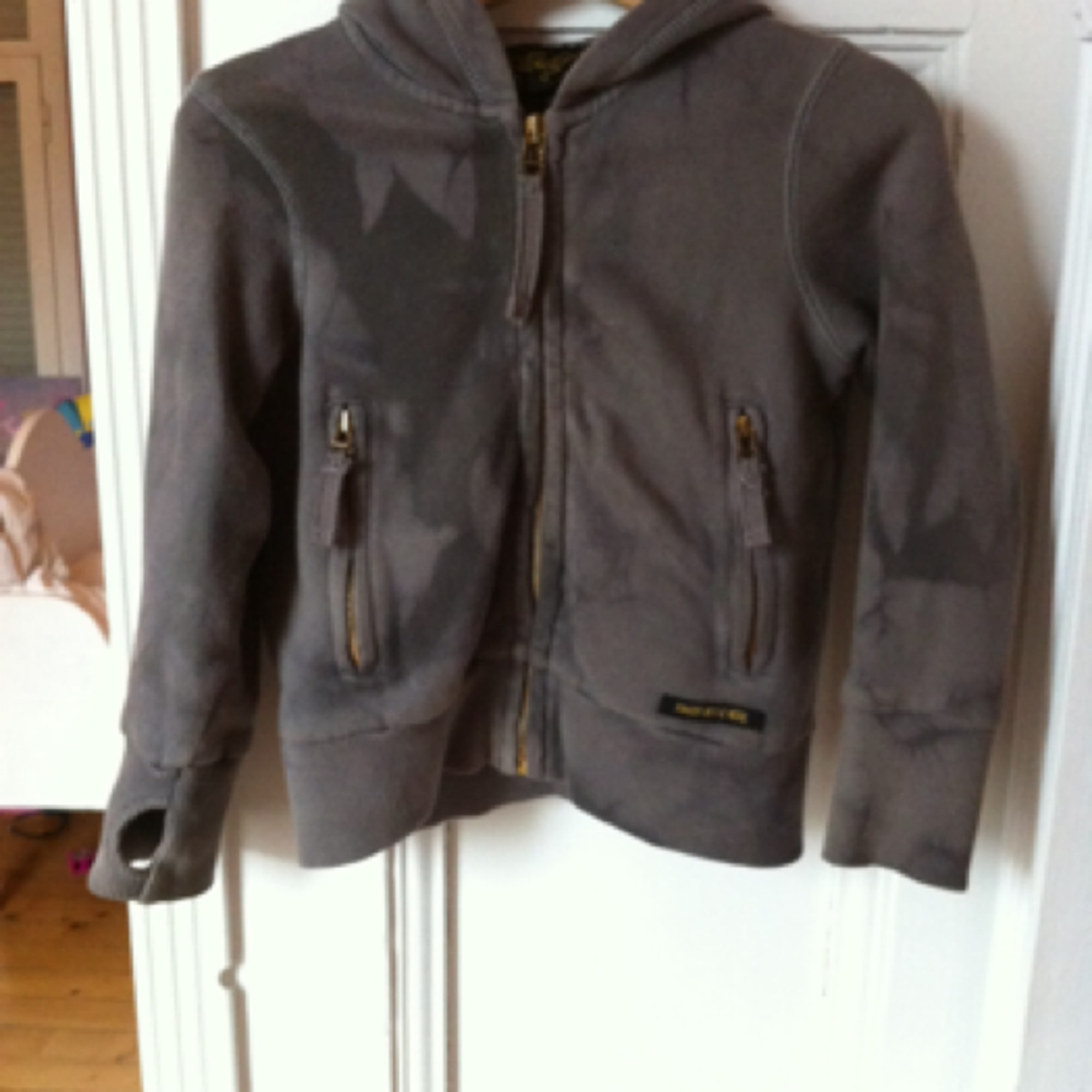 Gilet, cardigan FINGER IN THE NOSE Gris, anthracite