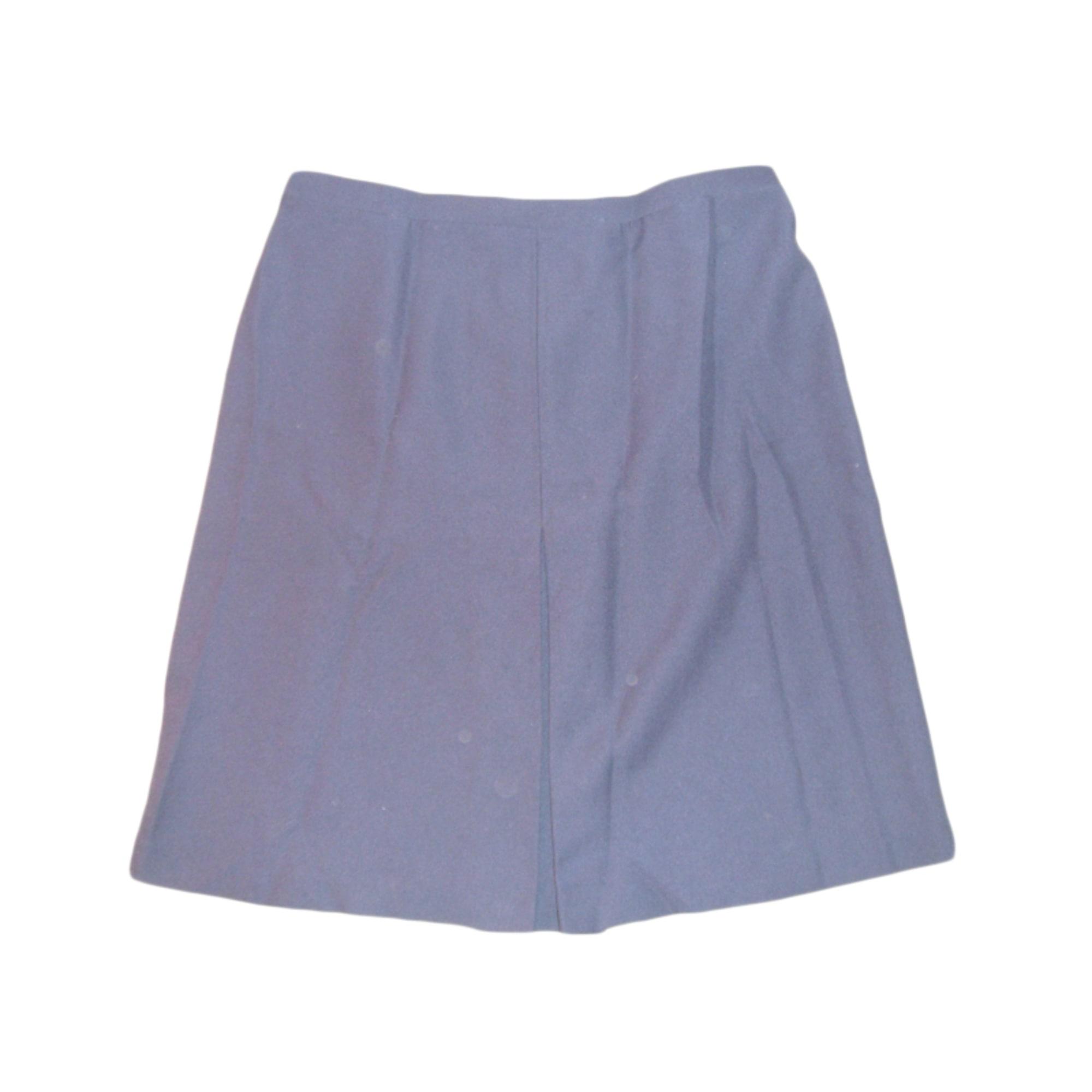 Jupe mi-longue BLANCHEPORTE Bleu, bleu marine, bleu turquoise