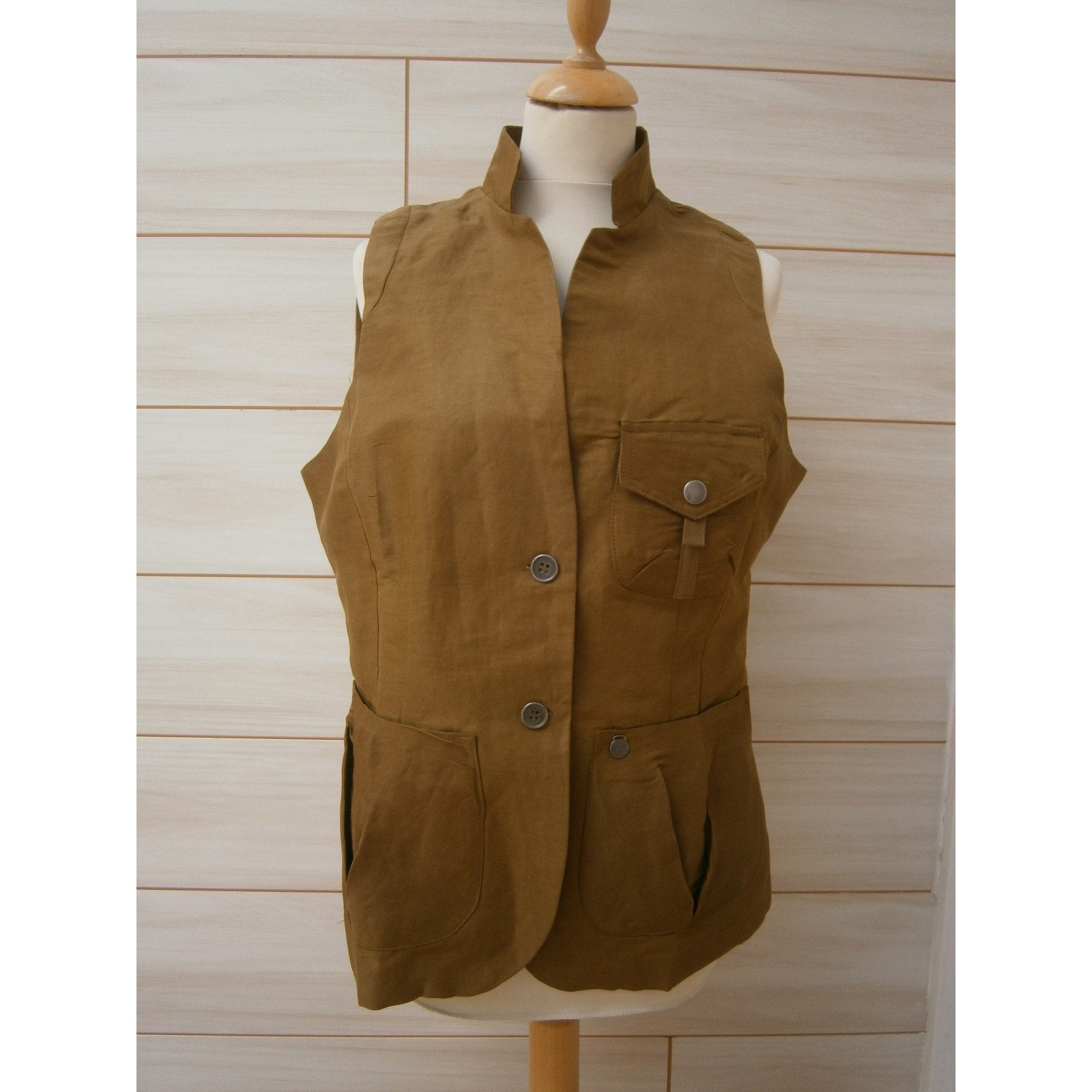 Gilet sans manches 1060 CLOTHES Kaki