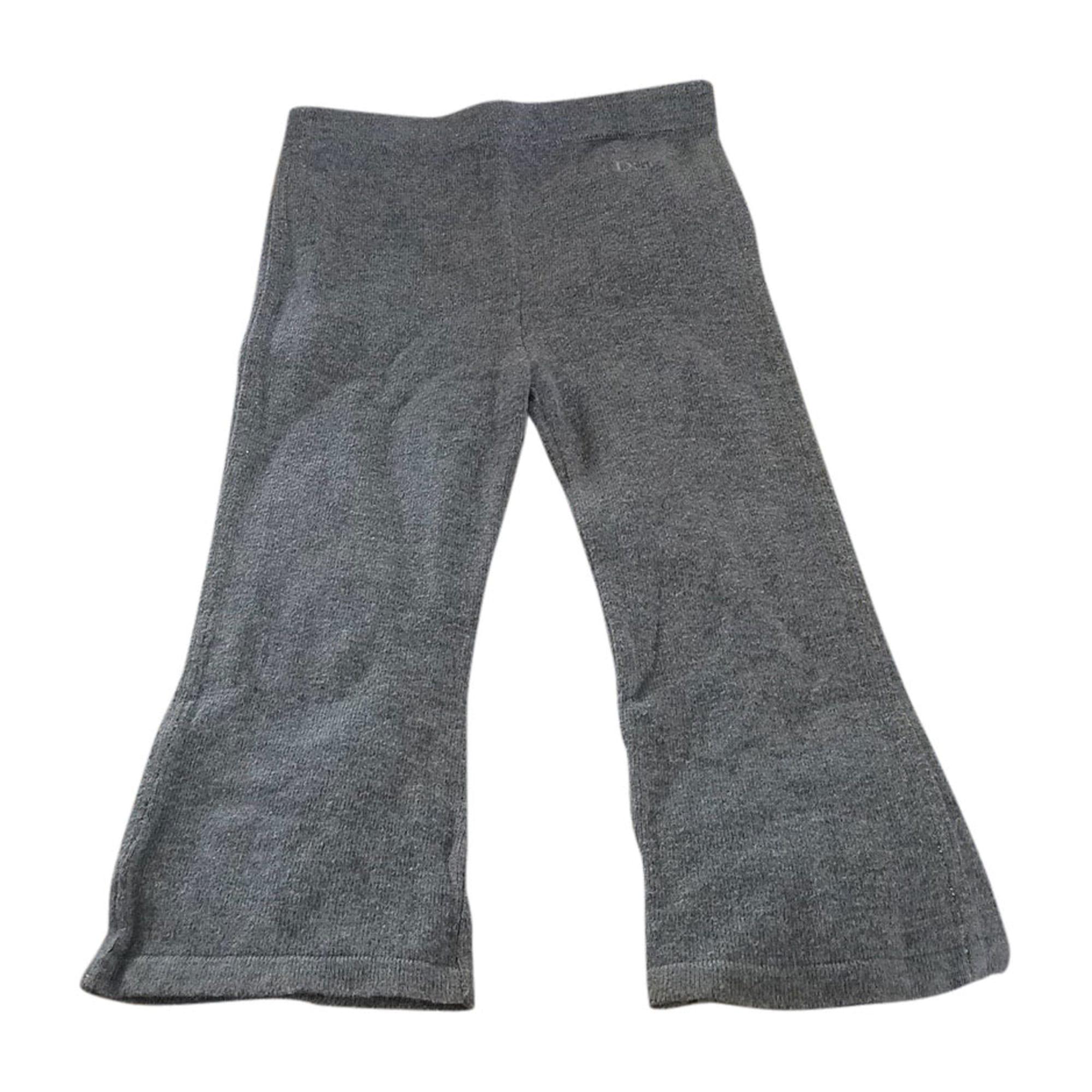 Pants BABY DIOR Gray, charcoal