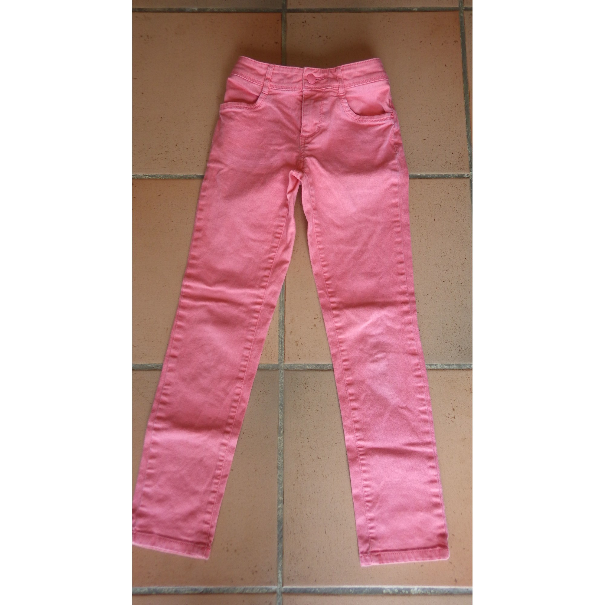 Jeans droit TOMMY HILFIGER Orange