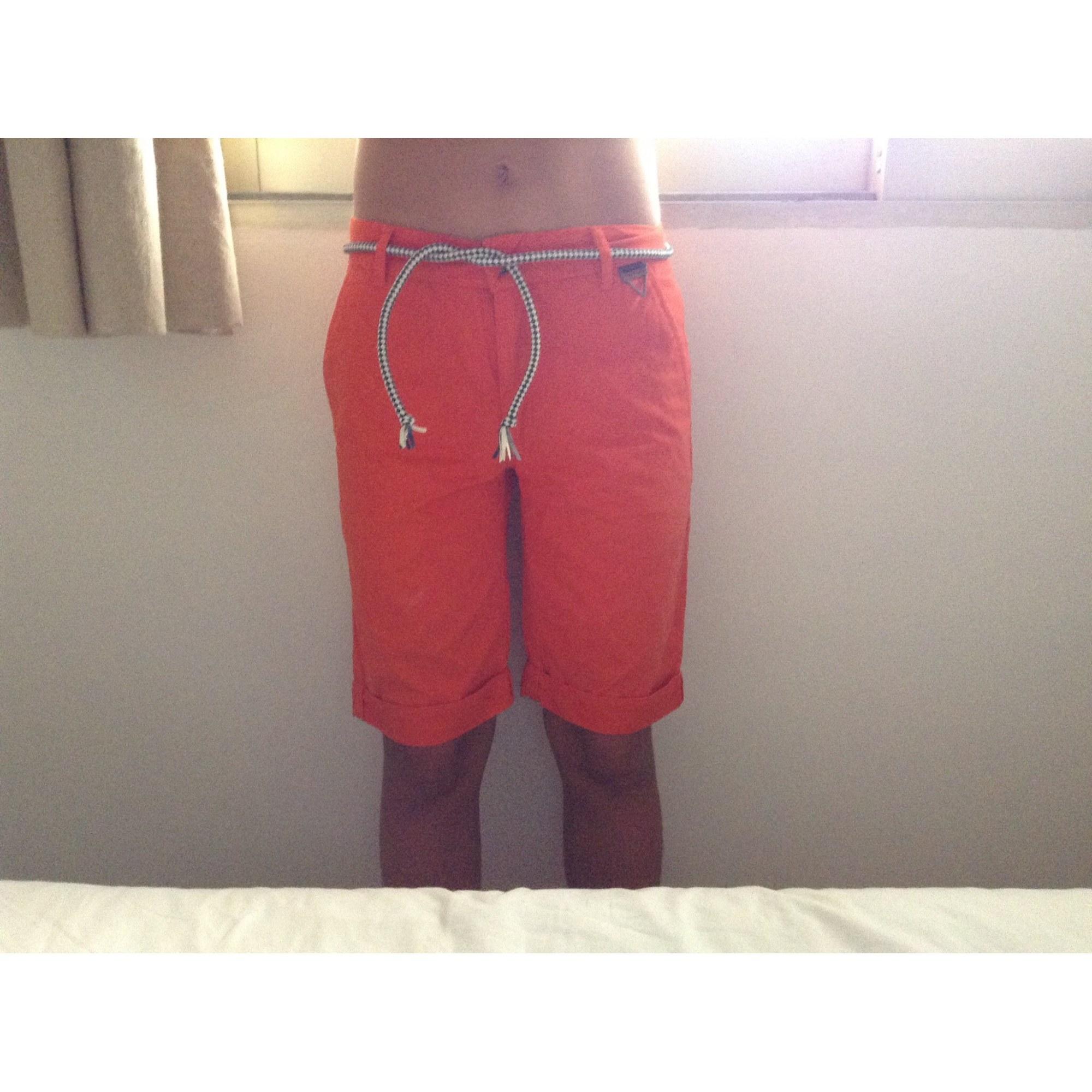 Short ELEVEN PARIS Orange