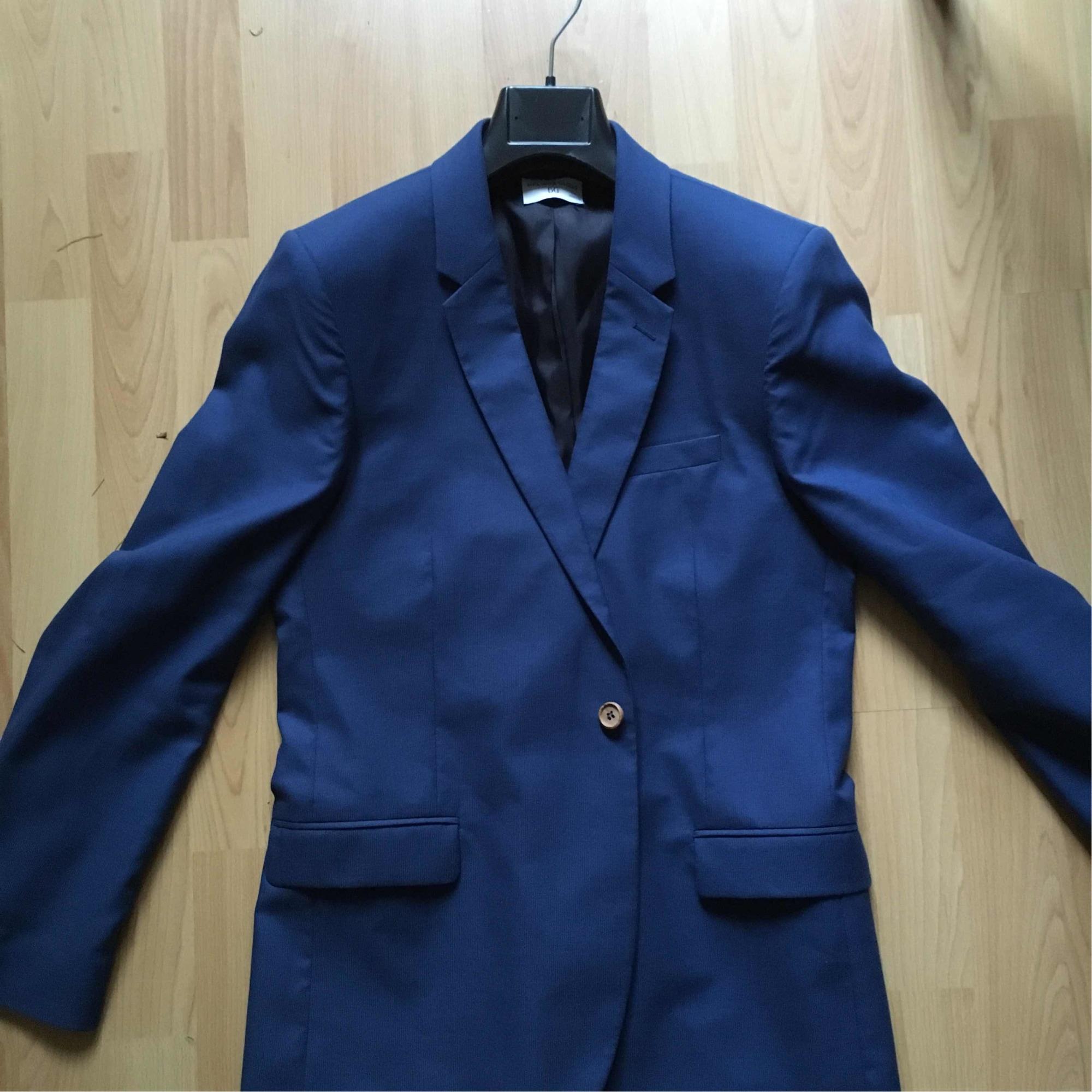 Manteau BONNE GUEULE 46 (S) bleu vendu par Mathieu 43482822
