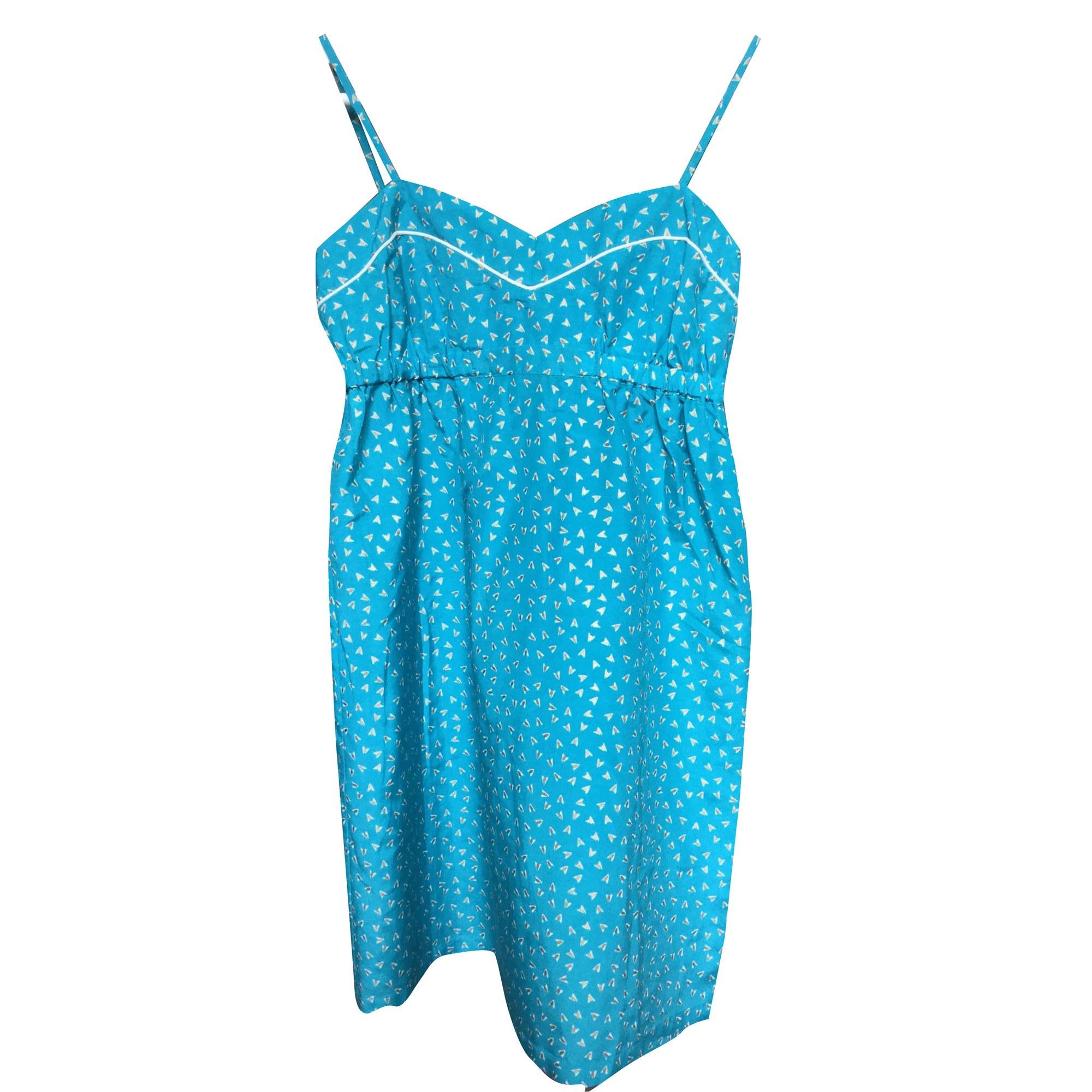 Robe courte PRINCESSE TAM TAM Bleu, bleu marine, bleu turquoise