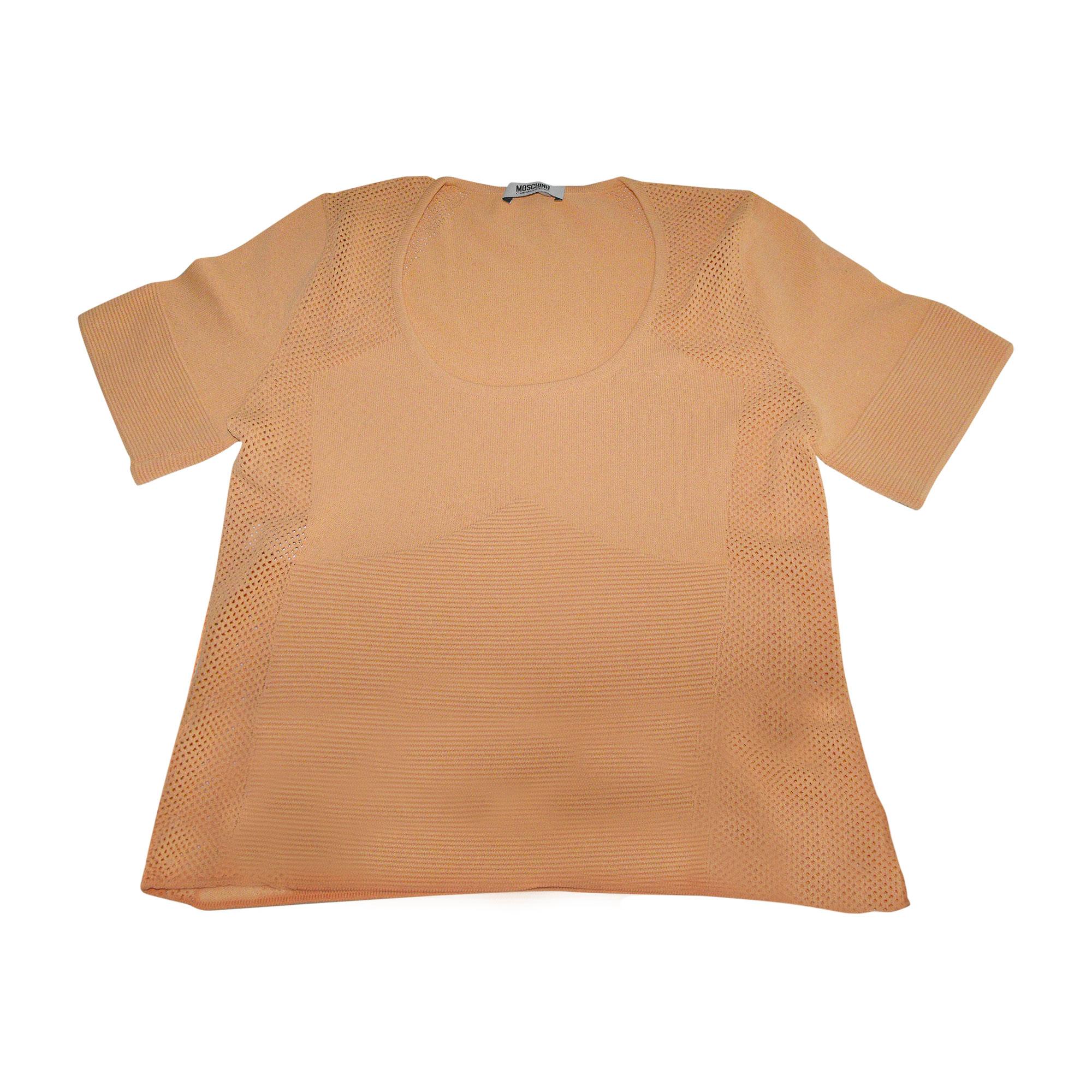 Top, tee-shirt MOSCHINO Orange