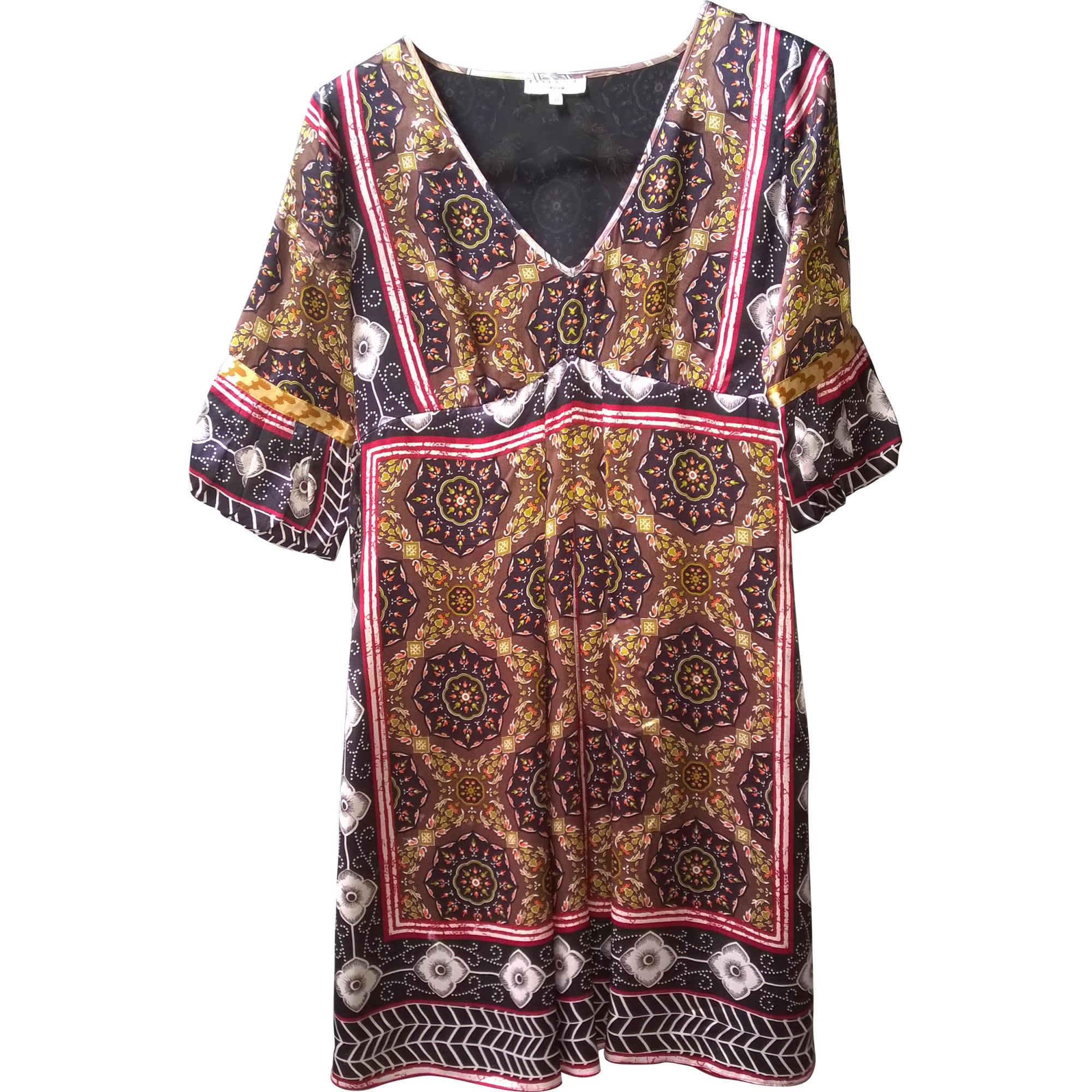 Robe tunique ESSENTIEL ANTWERP imprimé multicolore
