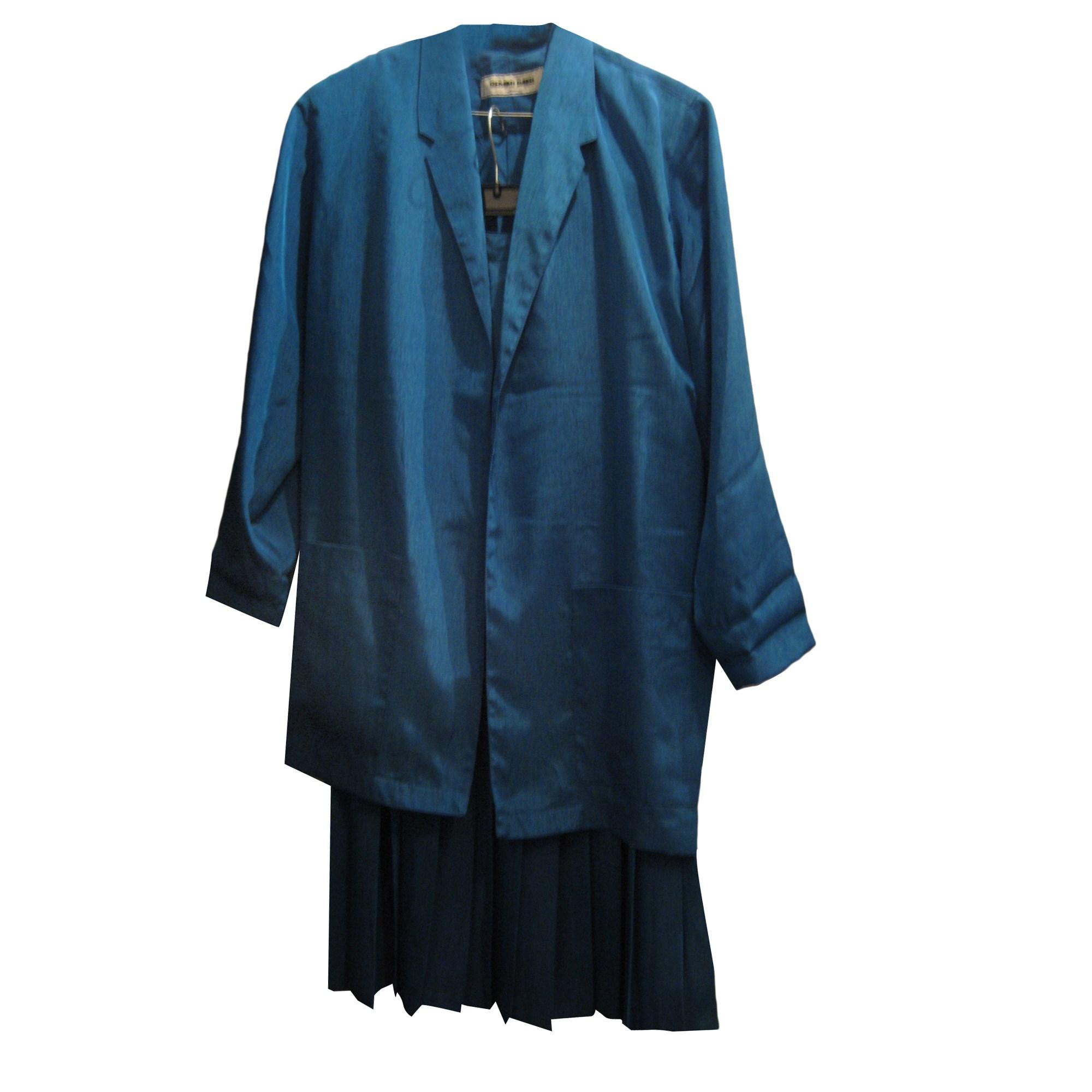 Tailleur jupe GERARD DAREL Bleu, bleu marine, bleu turquoise