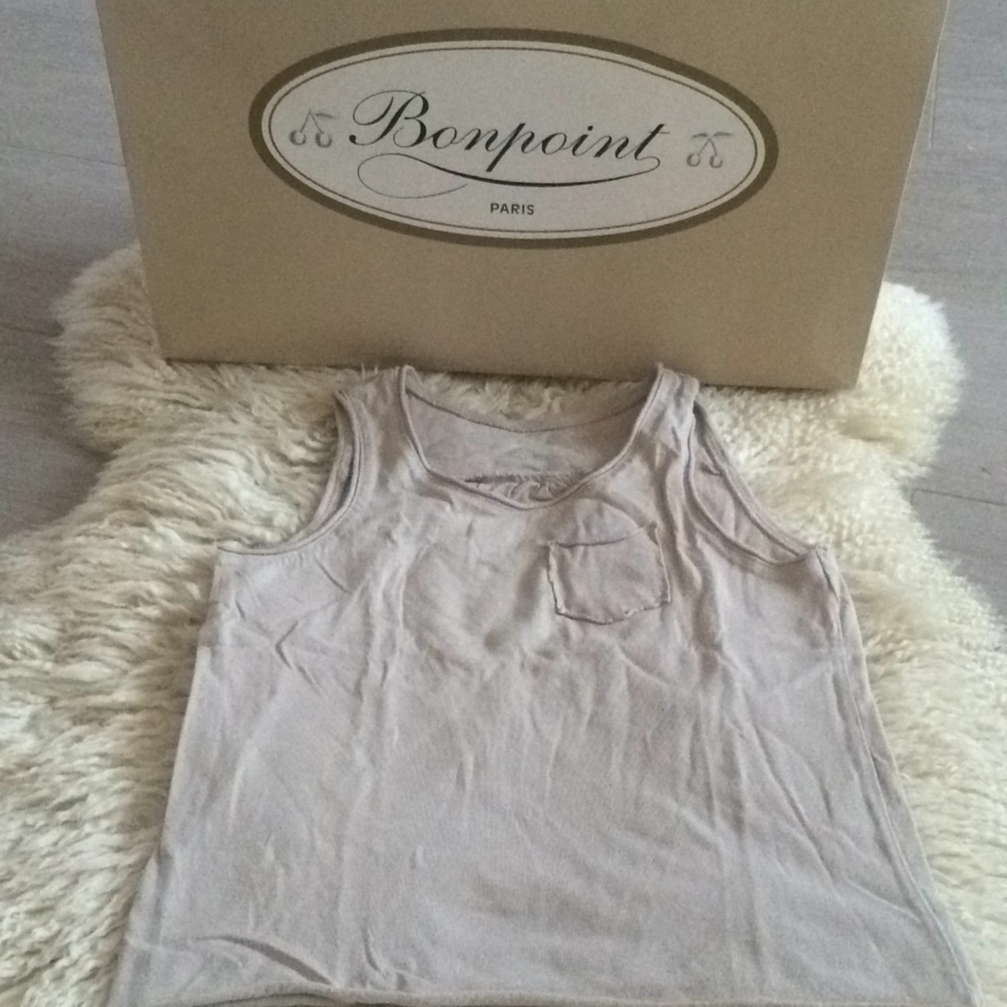 Top, Tee-shirt BONPOINT Beige, camel