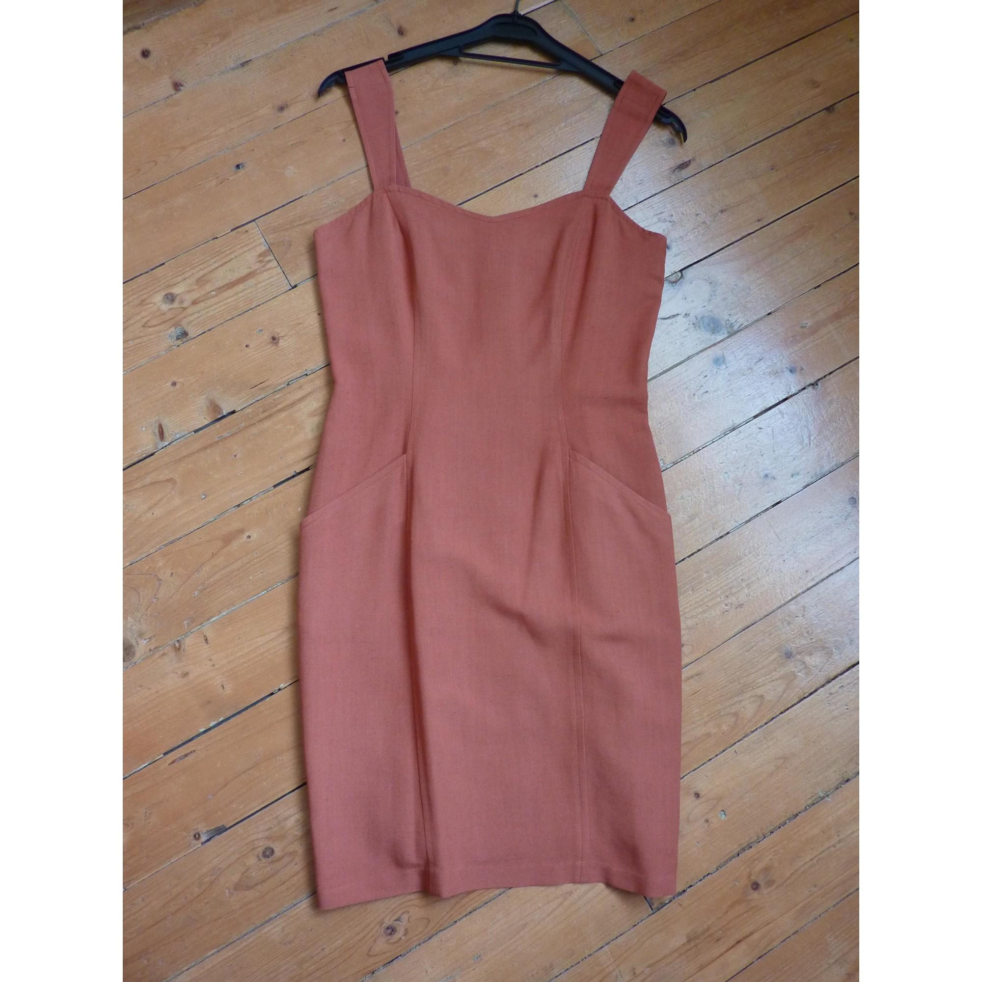 Tailleur robe SYM Orange