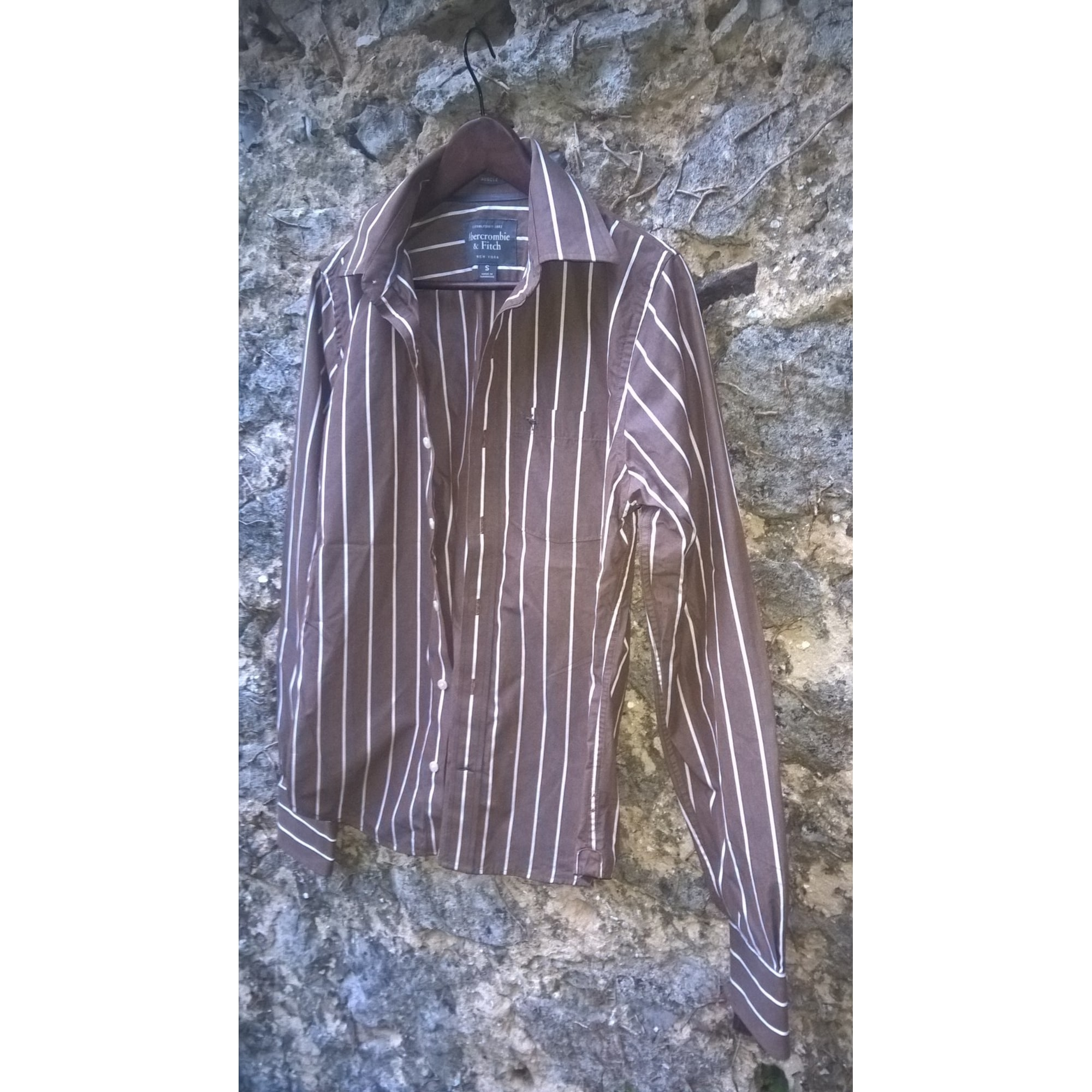 Chemise ABERCROMBIE & FITCH Marron