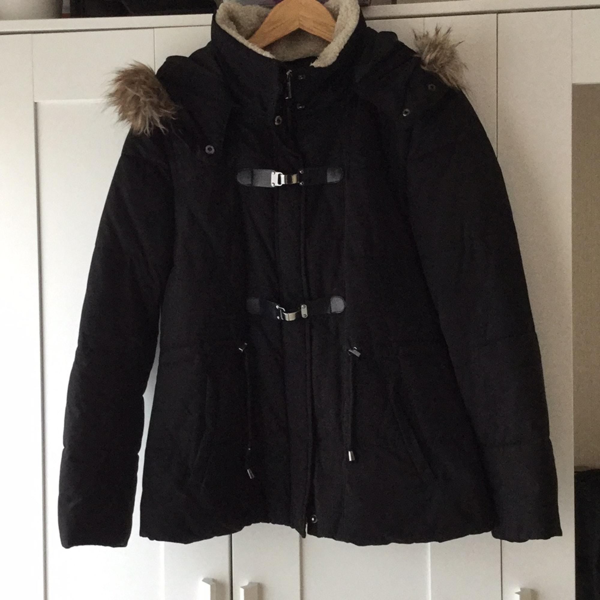 manteau noir femme etam