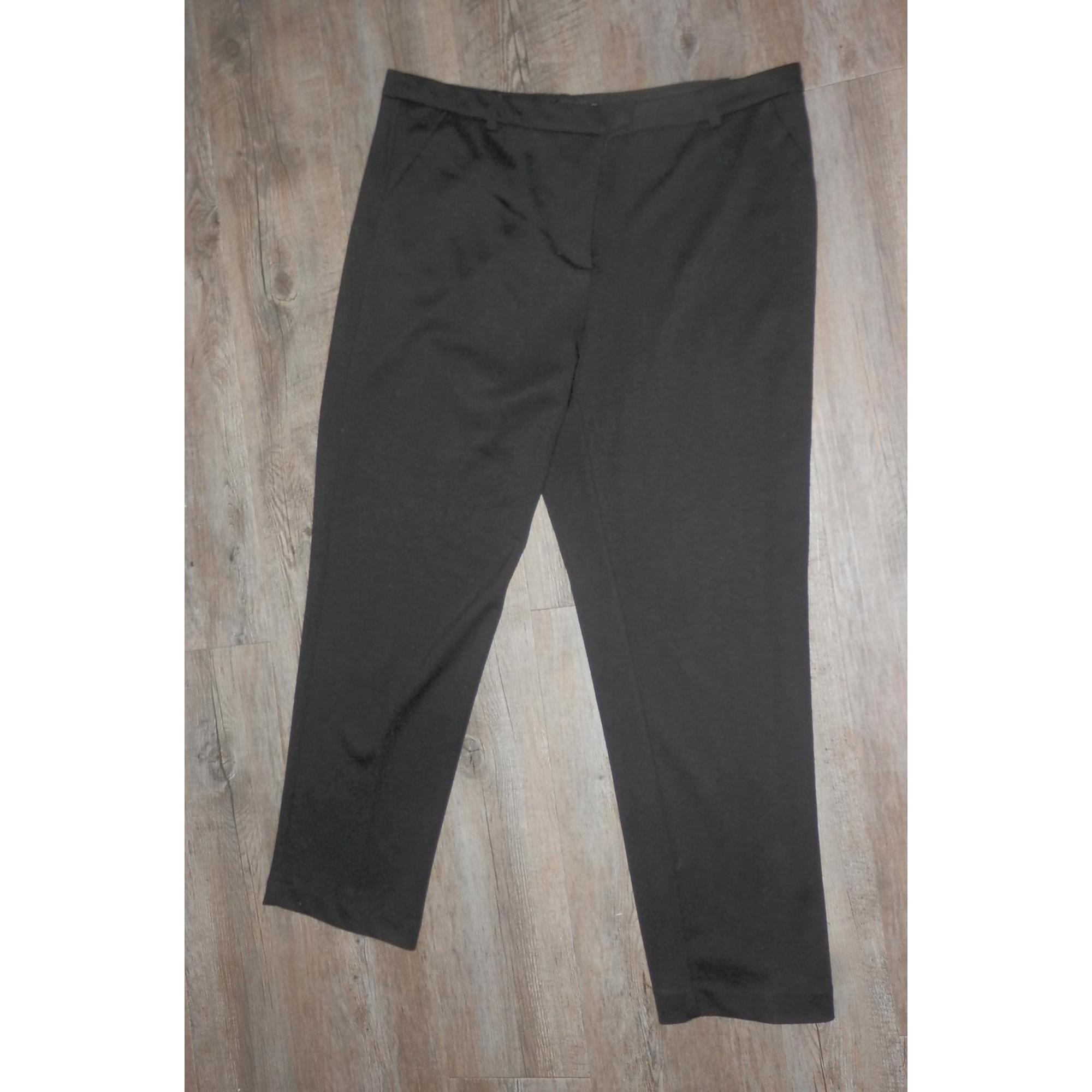 Pantalon slim, cigarette MONOPRIX Noir