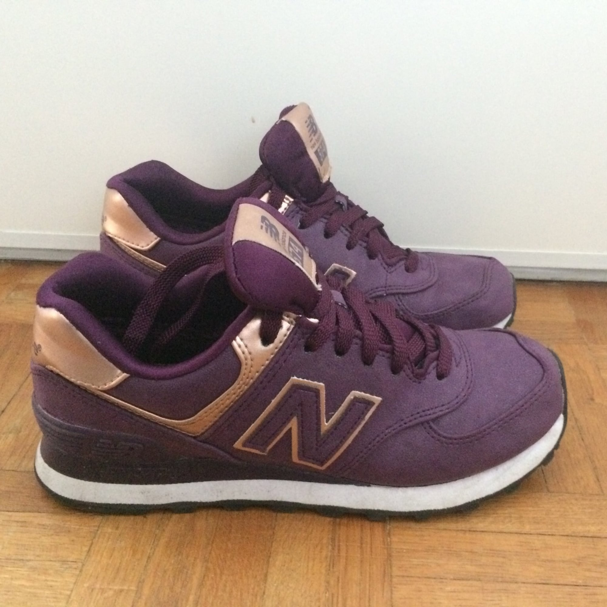 basket garcon 37 new balance couler violet