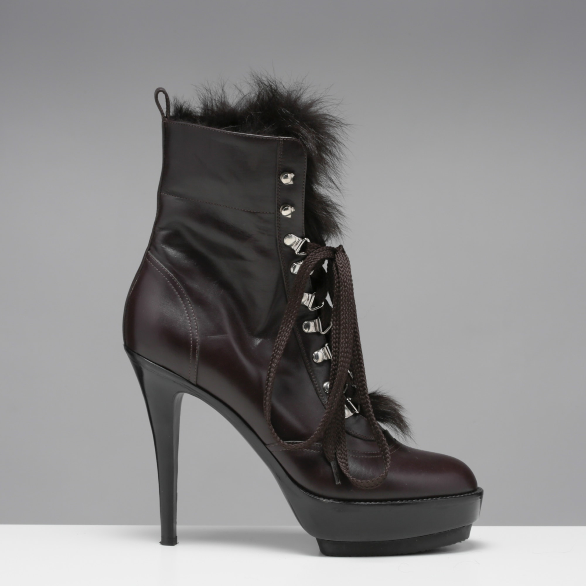 Bottines & low boots à talons GIANVITO ROSSI Marron