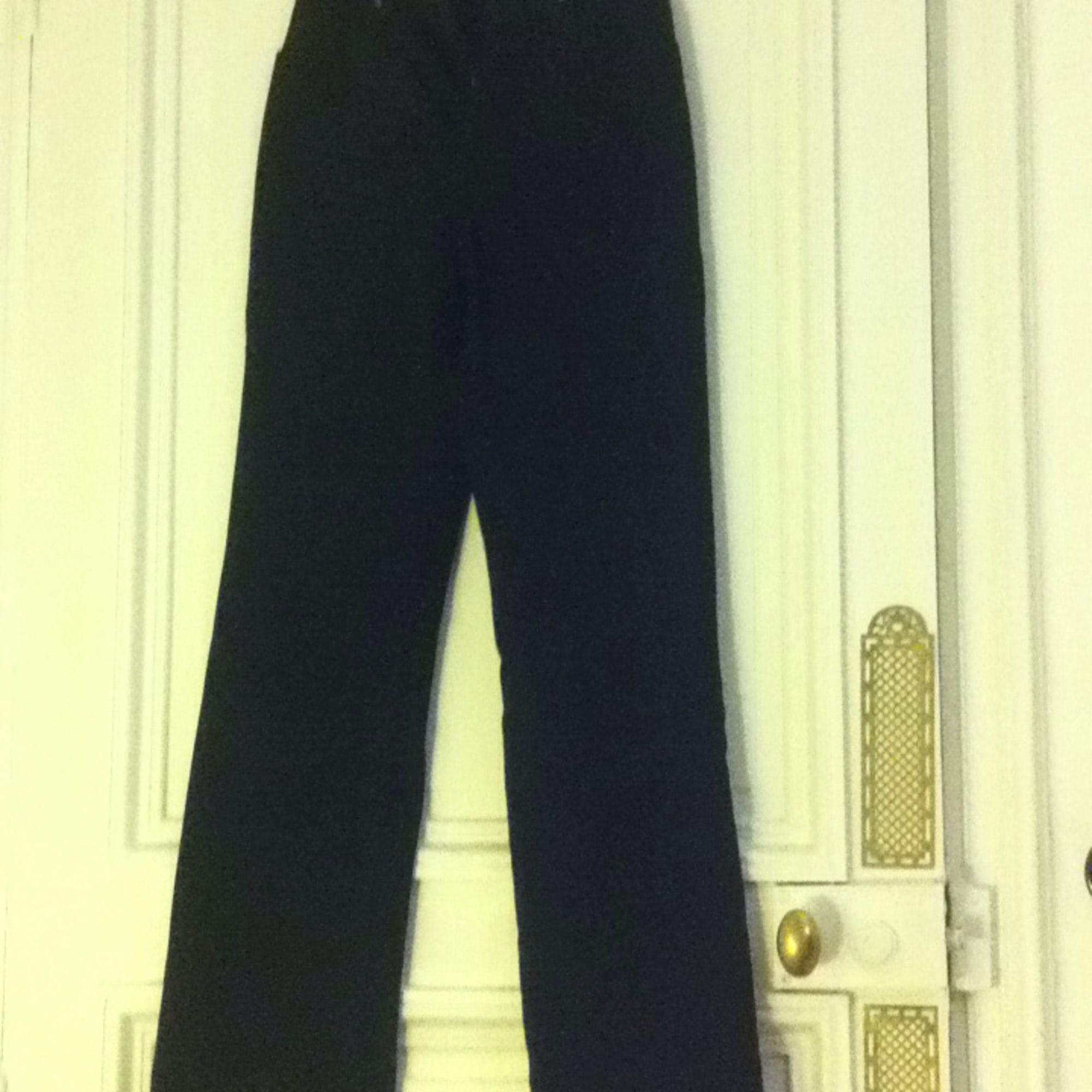 Jeans droit OBER Noir