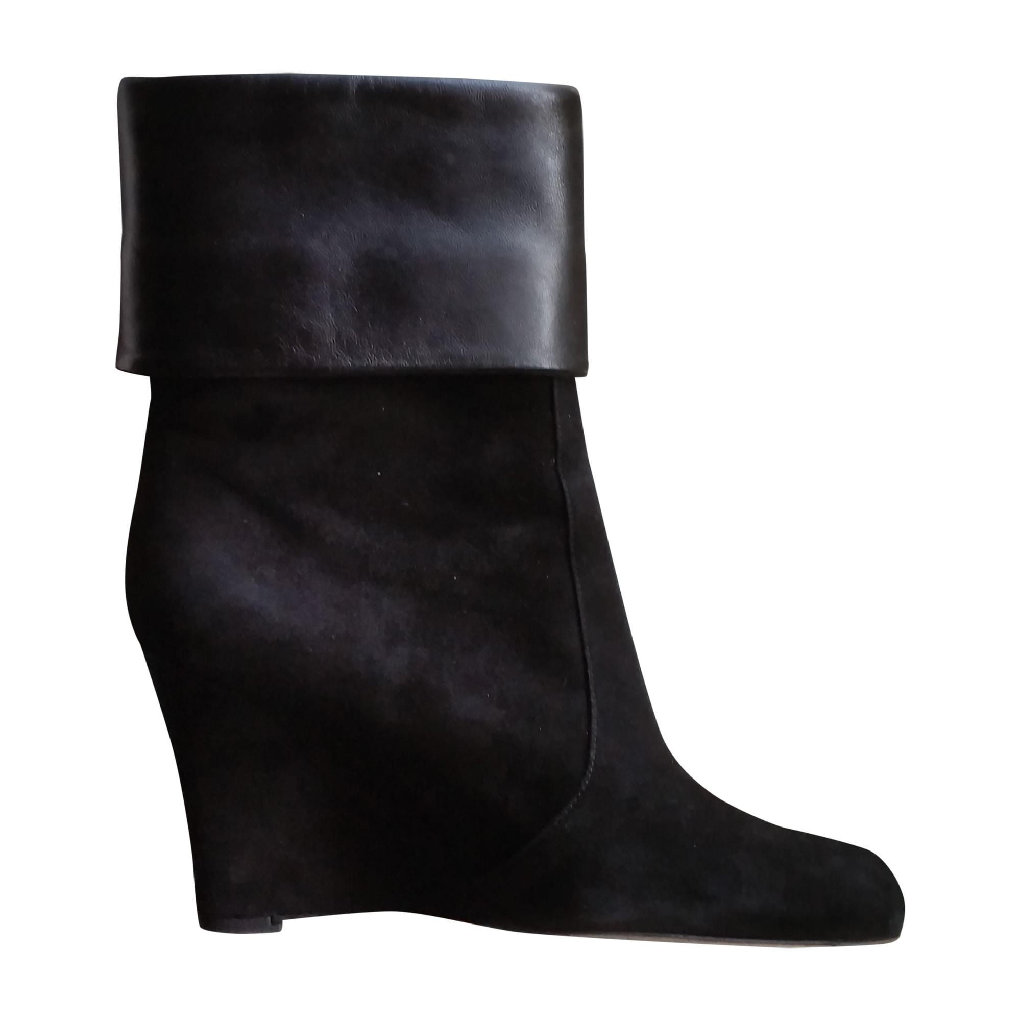 Bottines & low boots à compensés GIANVITO ROSSI Noir