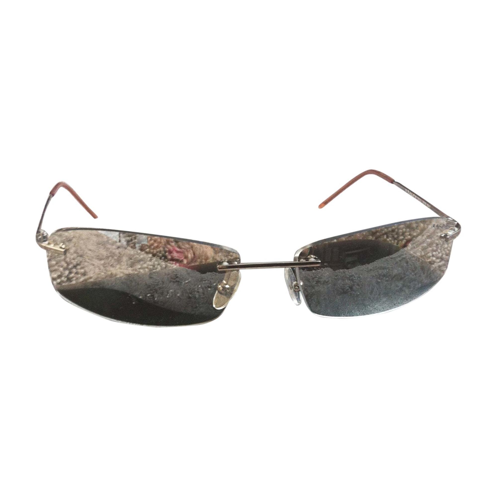 Monture de lunettes RALPH LAUREN Argenté, acier