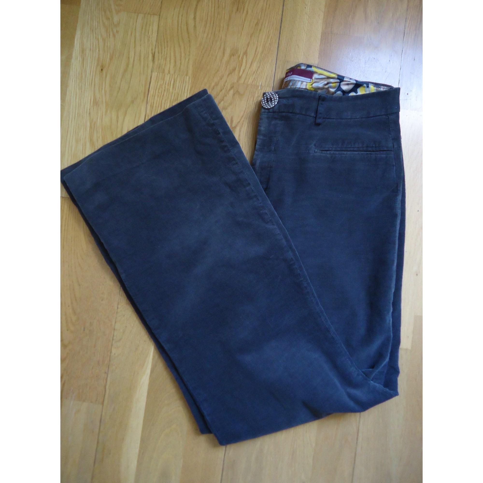 Pantalon large ONE STEP Marron