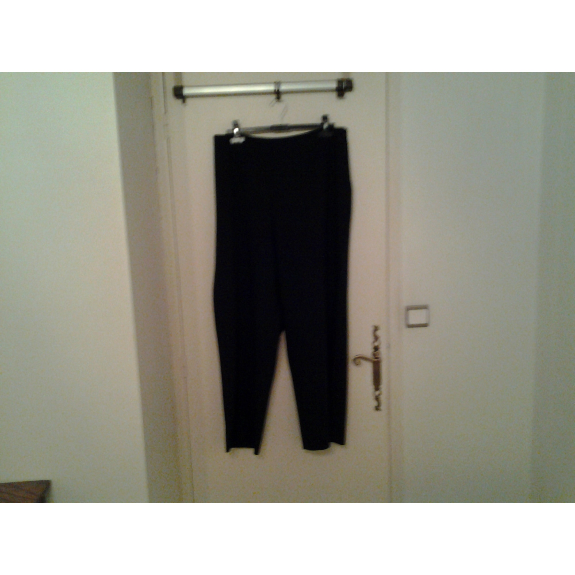 Pantalon large GIVENCHY Noir