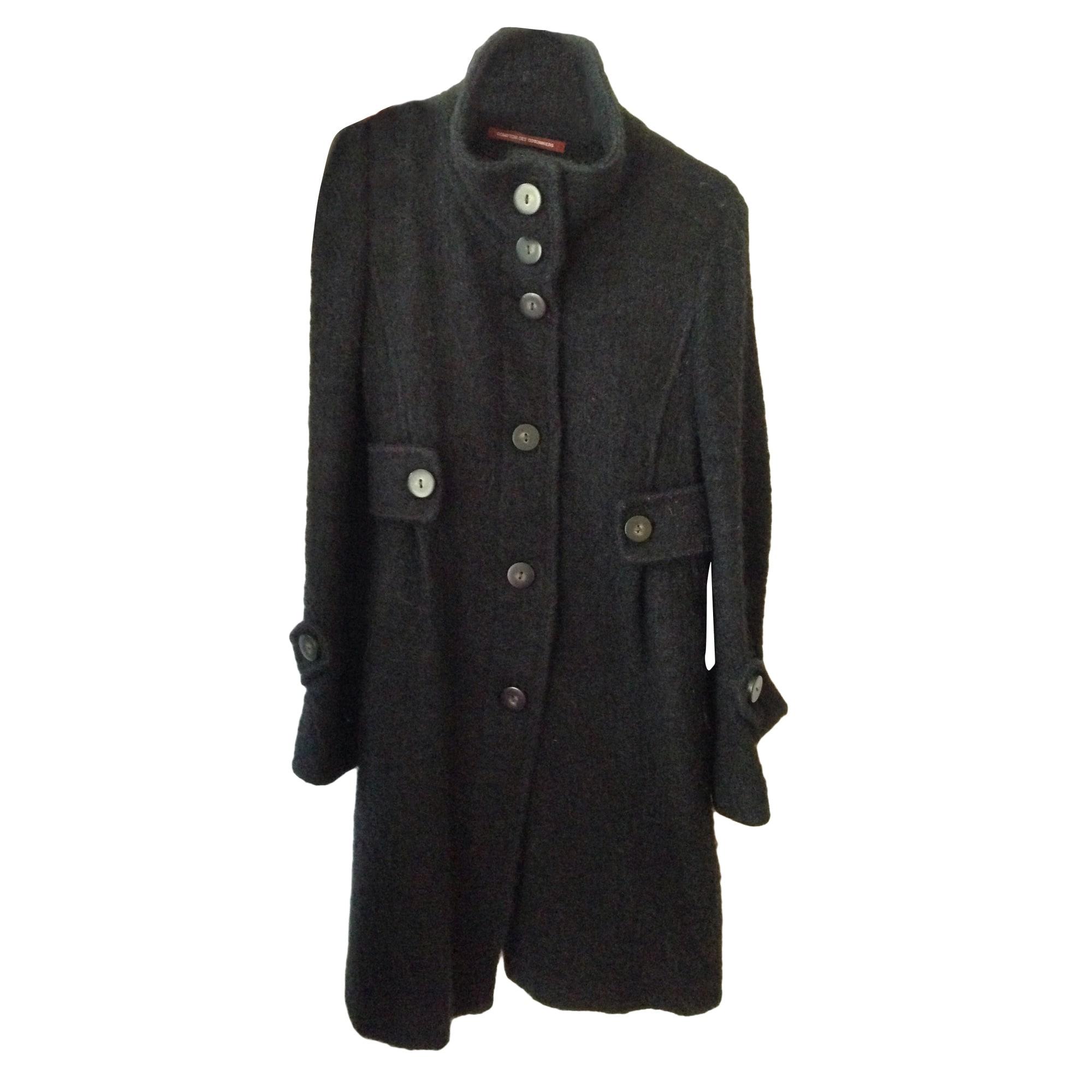 Manteau COMPTOIR DES COTONNIERS 36 (S, T1) noir vendu par