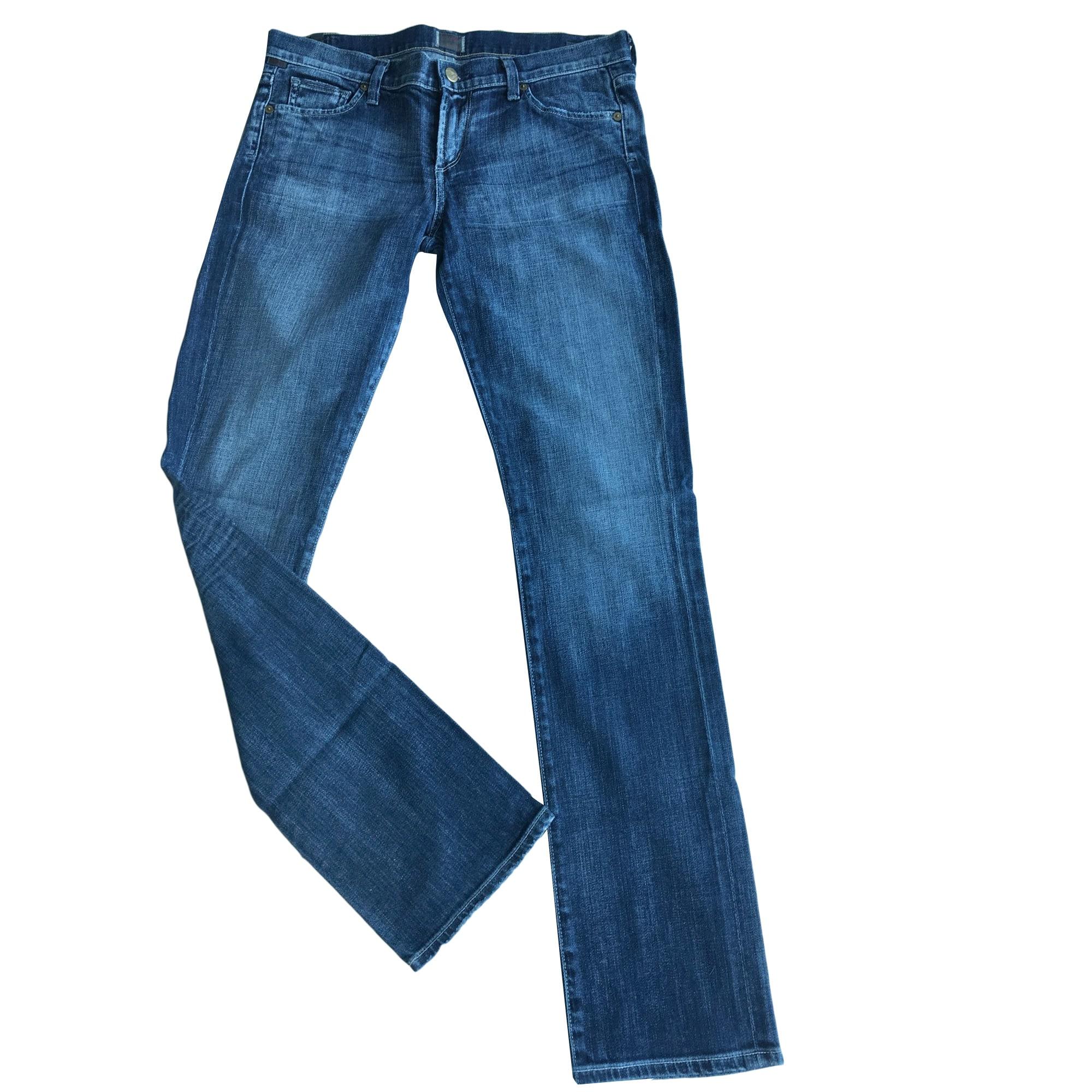 Jeans slim CITIZENS OF HUMANITY Bleu, bleu marine, bleu turquoise