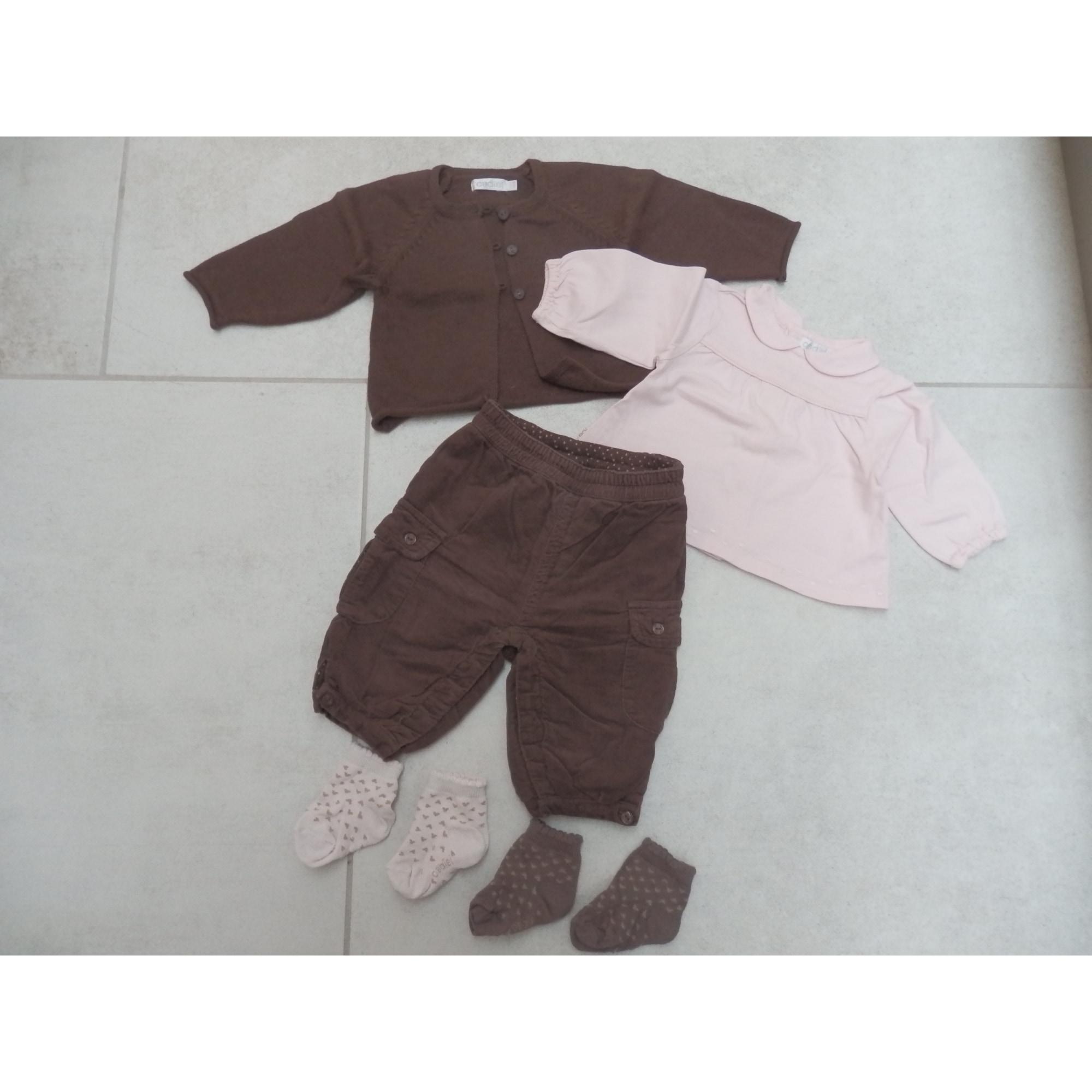 Ensemble & Combinaison pantalon OBAIBI Marron