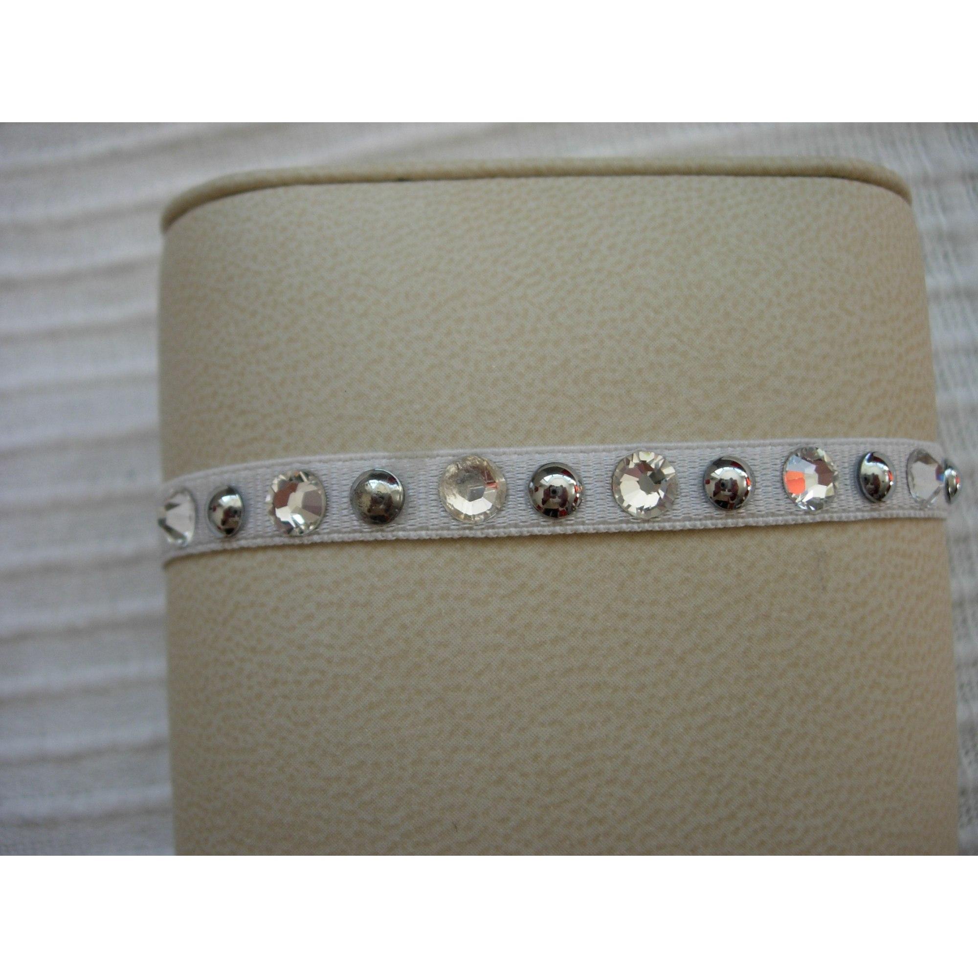 Bracelet LES INTERCHANGEABLES Blanc, blanc cassé, écru