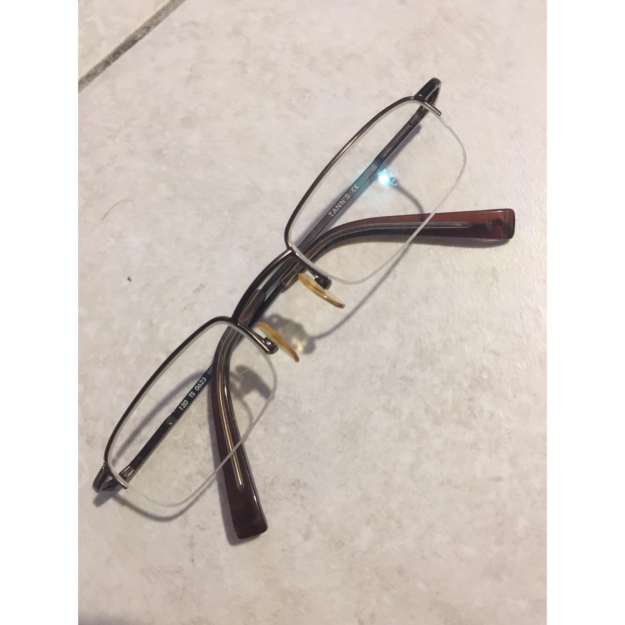 Monture de lunettes TANN'S Doré, bronze, cuivre