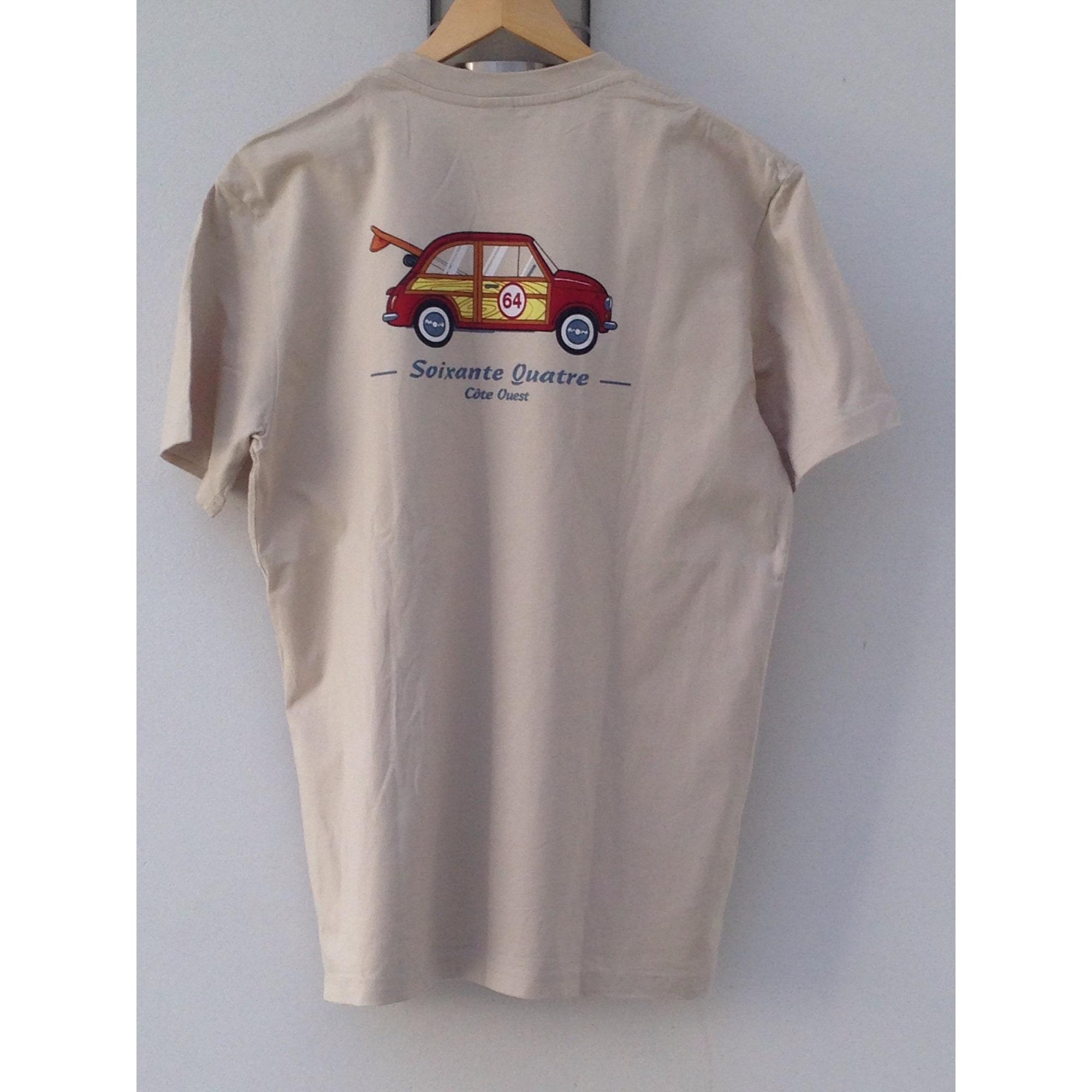 Tee-shirt 64 Beige, camel