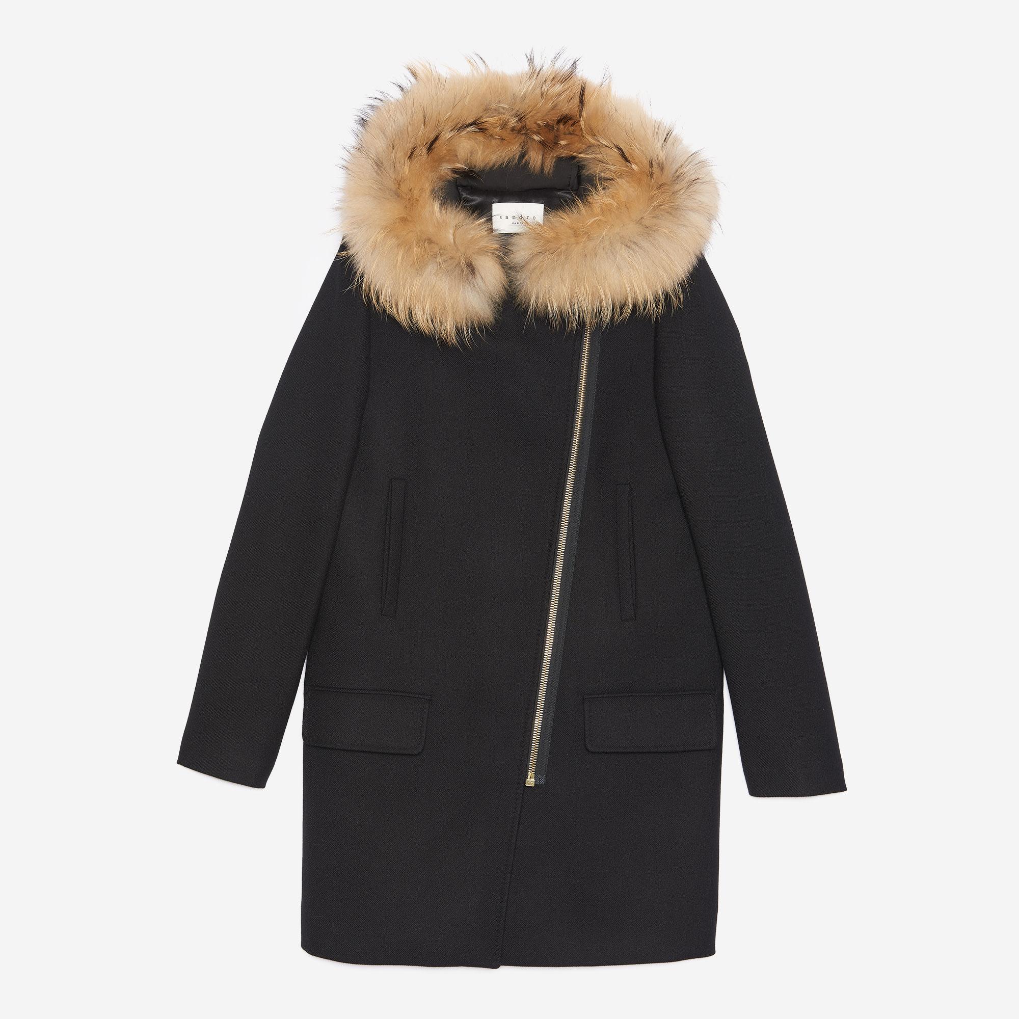 manteau hiver sandro homme