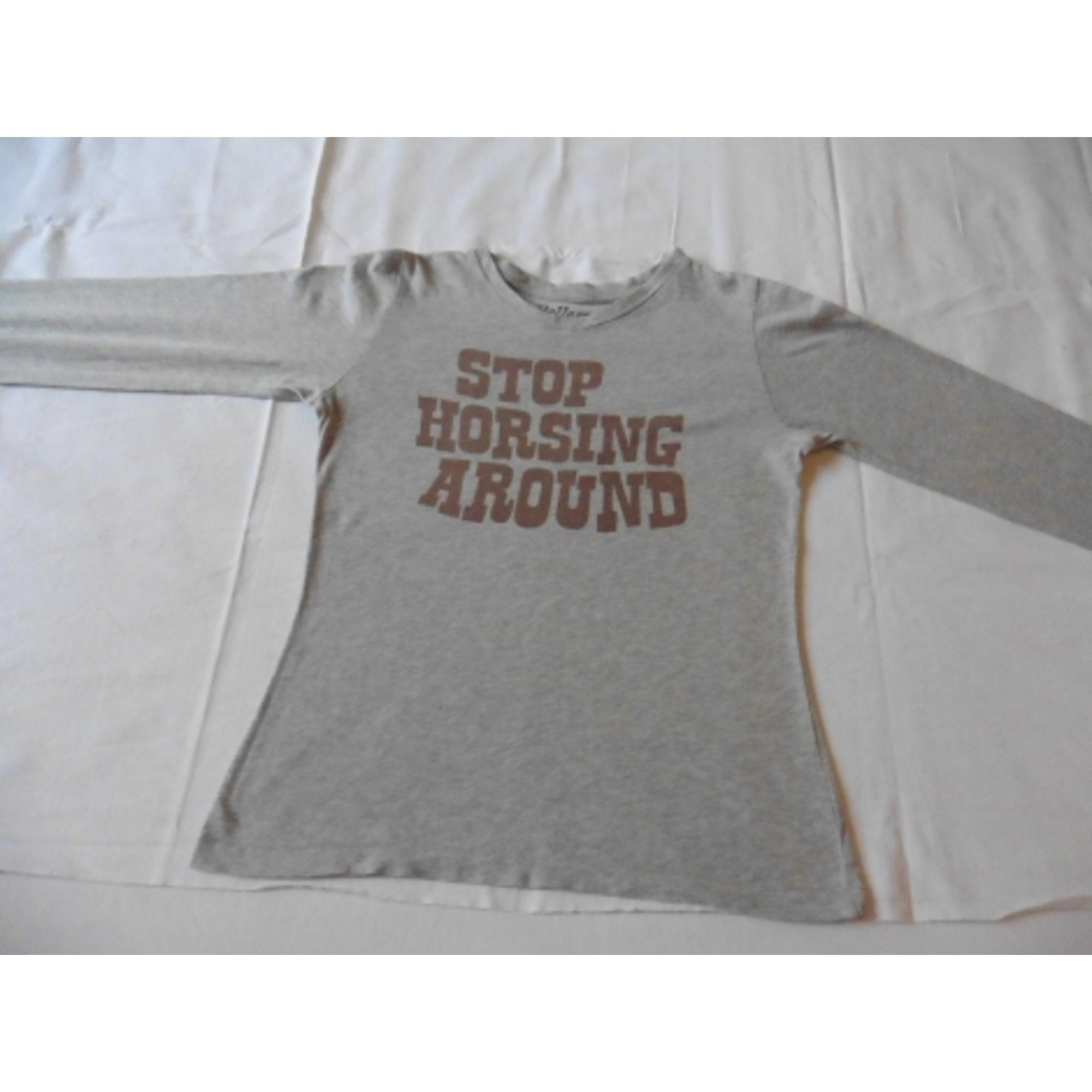 Top, Tee-shirt BELLEROSE Gris, anthracite