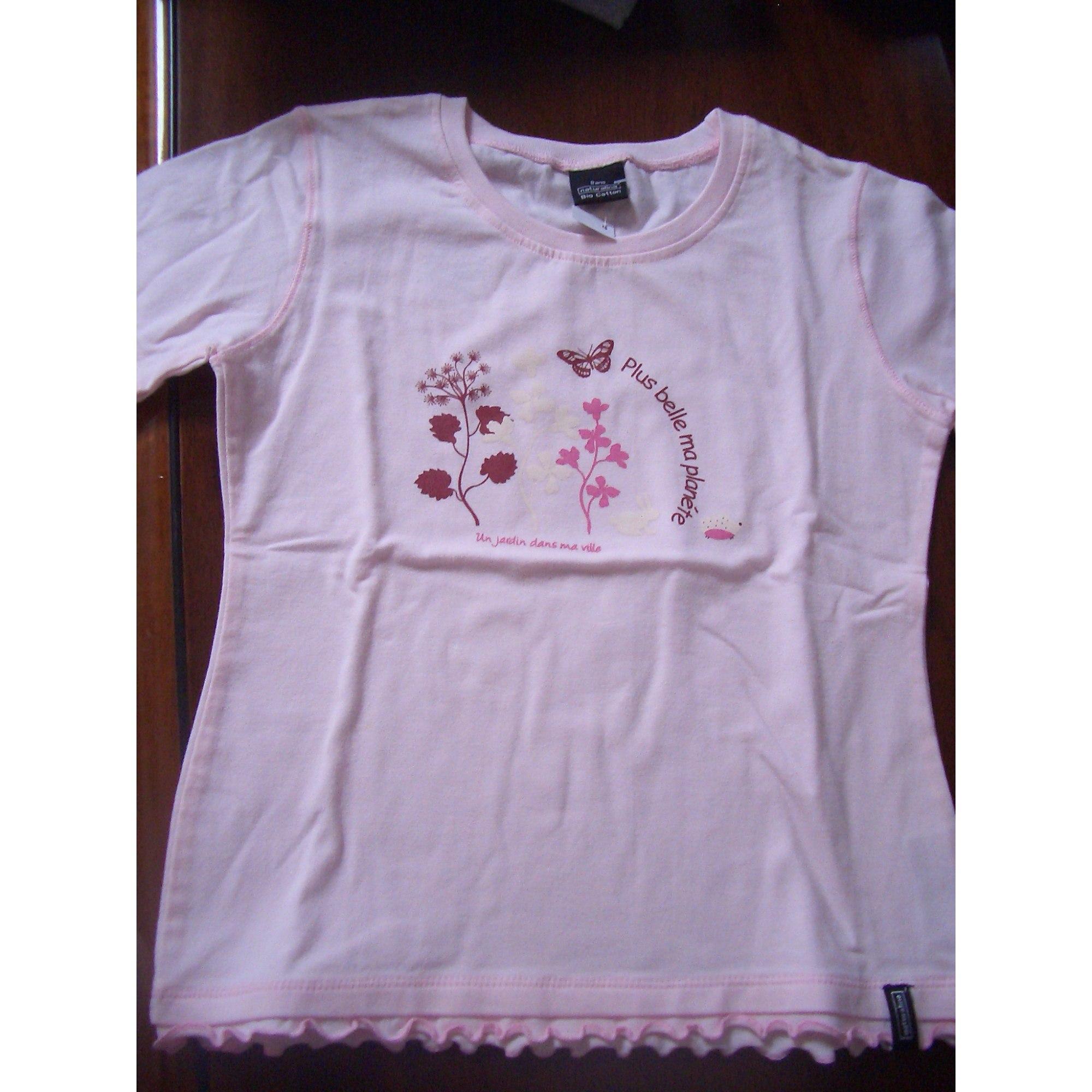 Top, Tee-shirt NATURALINE Rose, fuschia, vieux rose