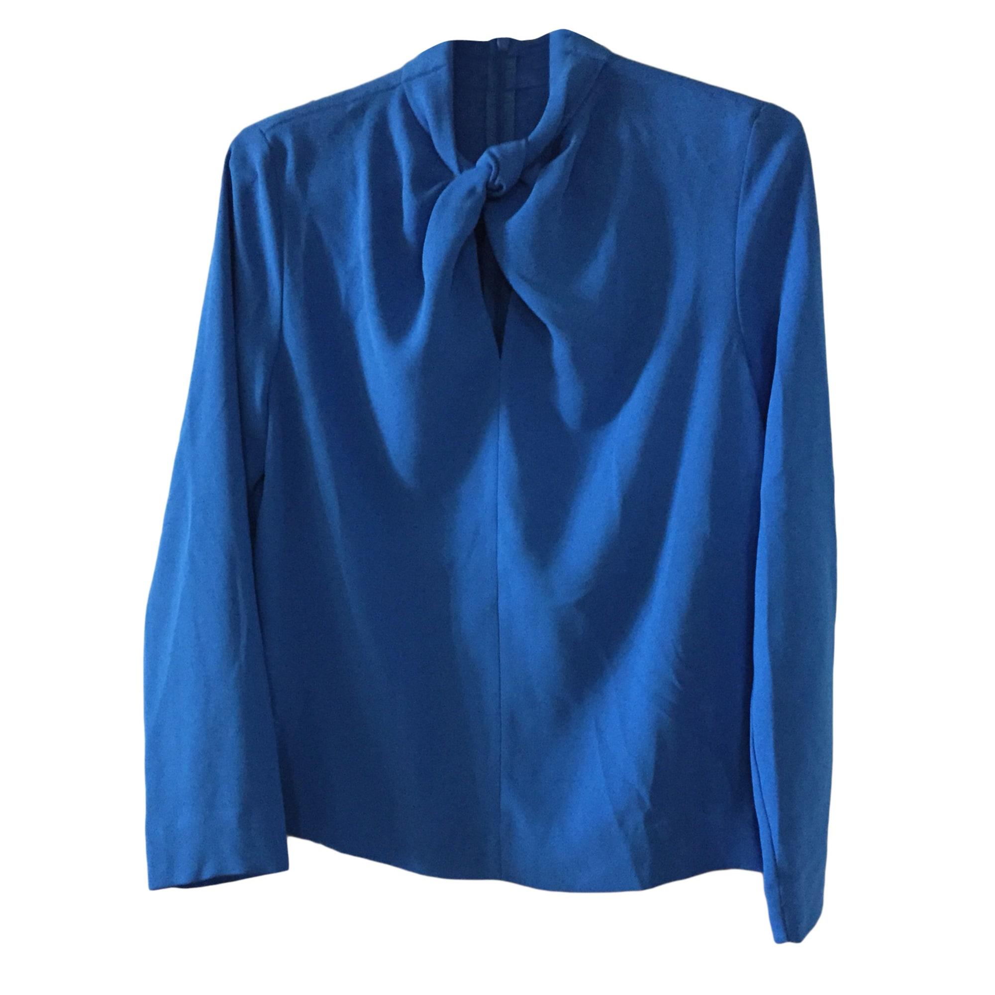 Blouse COS Bleu, bleu marine, bleu turquoise