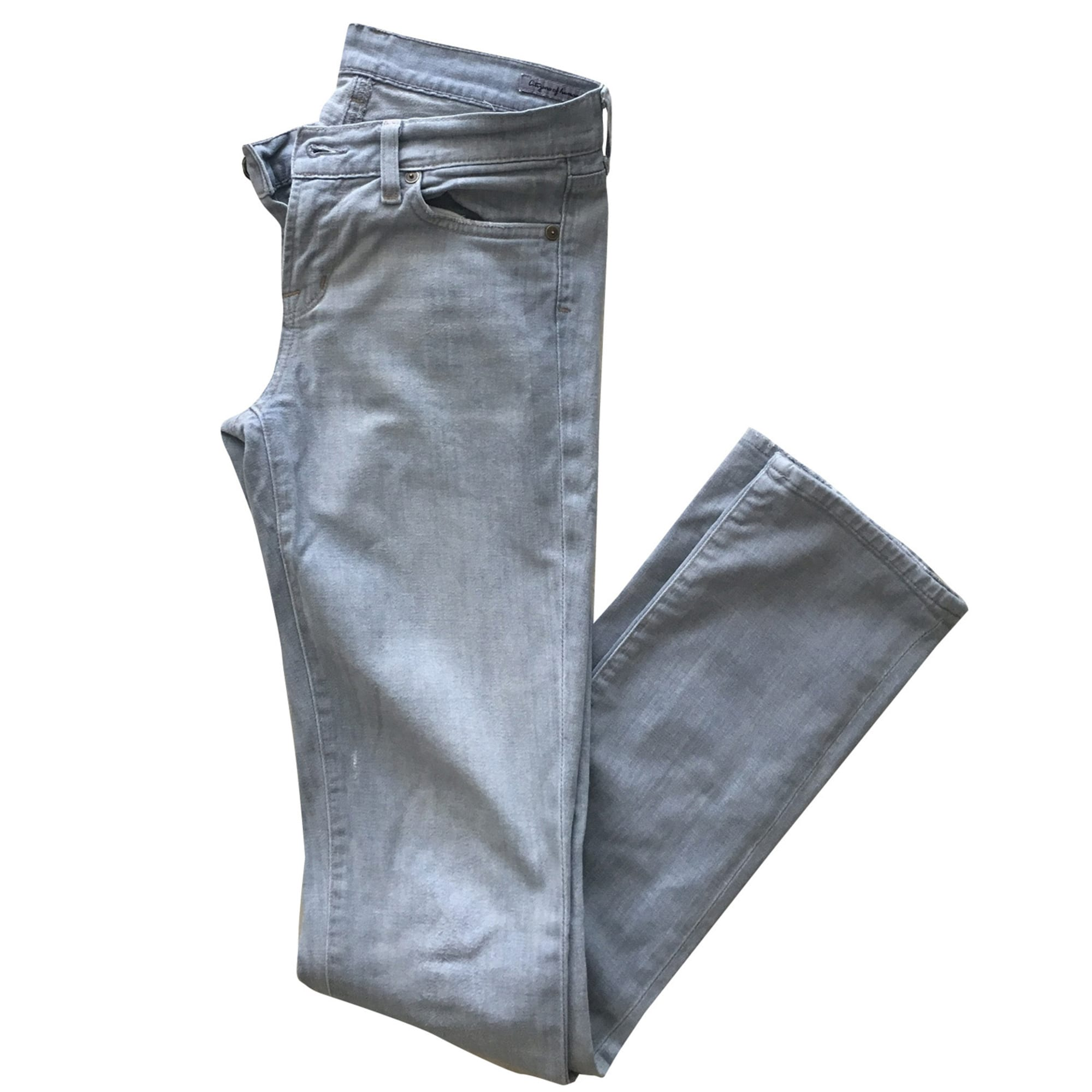 Jeans slim CITIZENS OF HUMANITY Gris, anthracite
