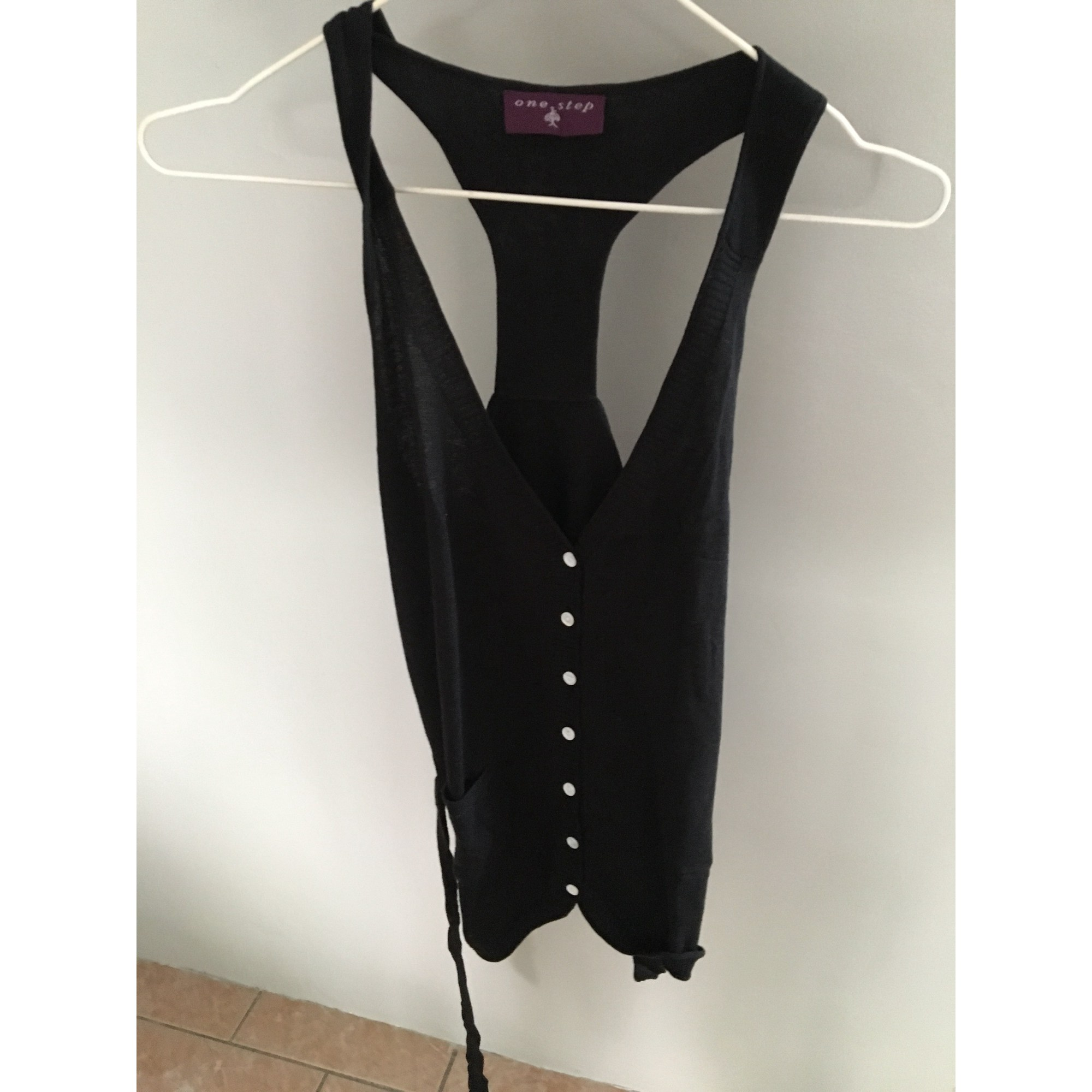 Gilet sans manches ONE STEP Noir