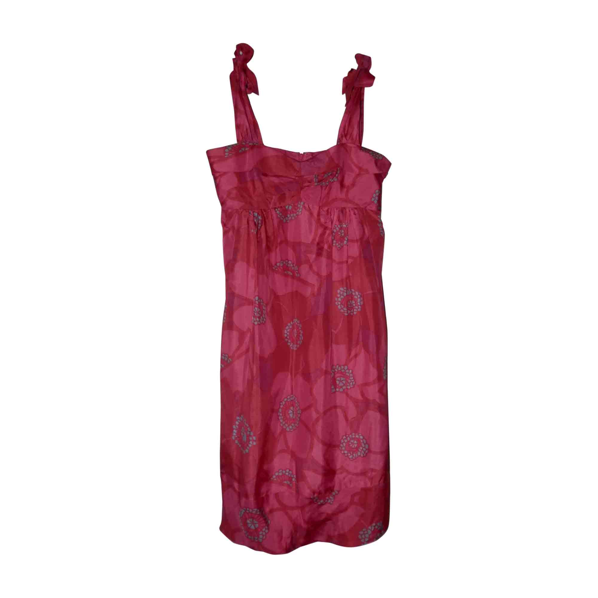 Robe mi-longue MARC JACOBS Rose, fuschia, vieux rose