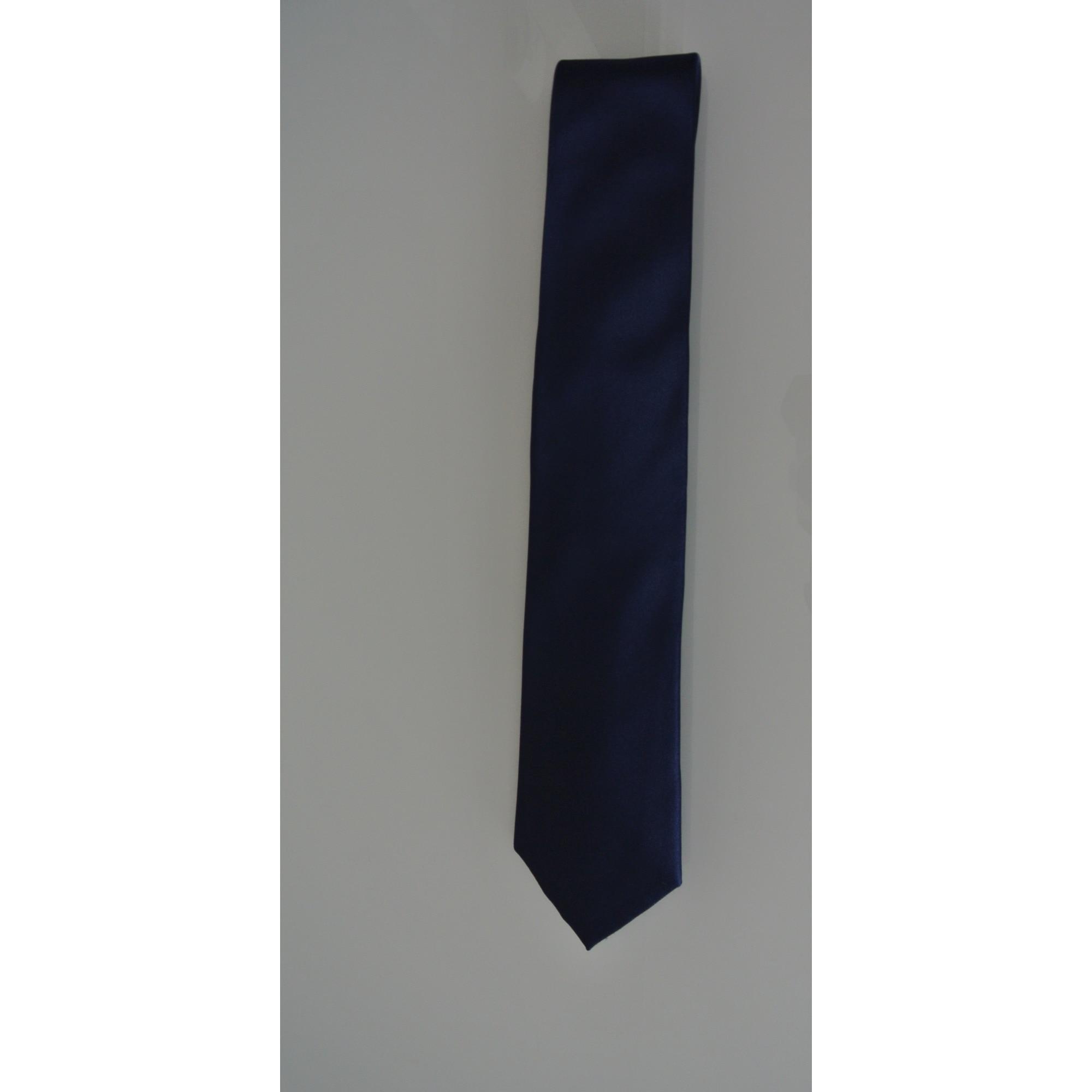 Cravate CARVEN Bleu, bleu marine, bleu turquoise