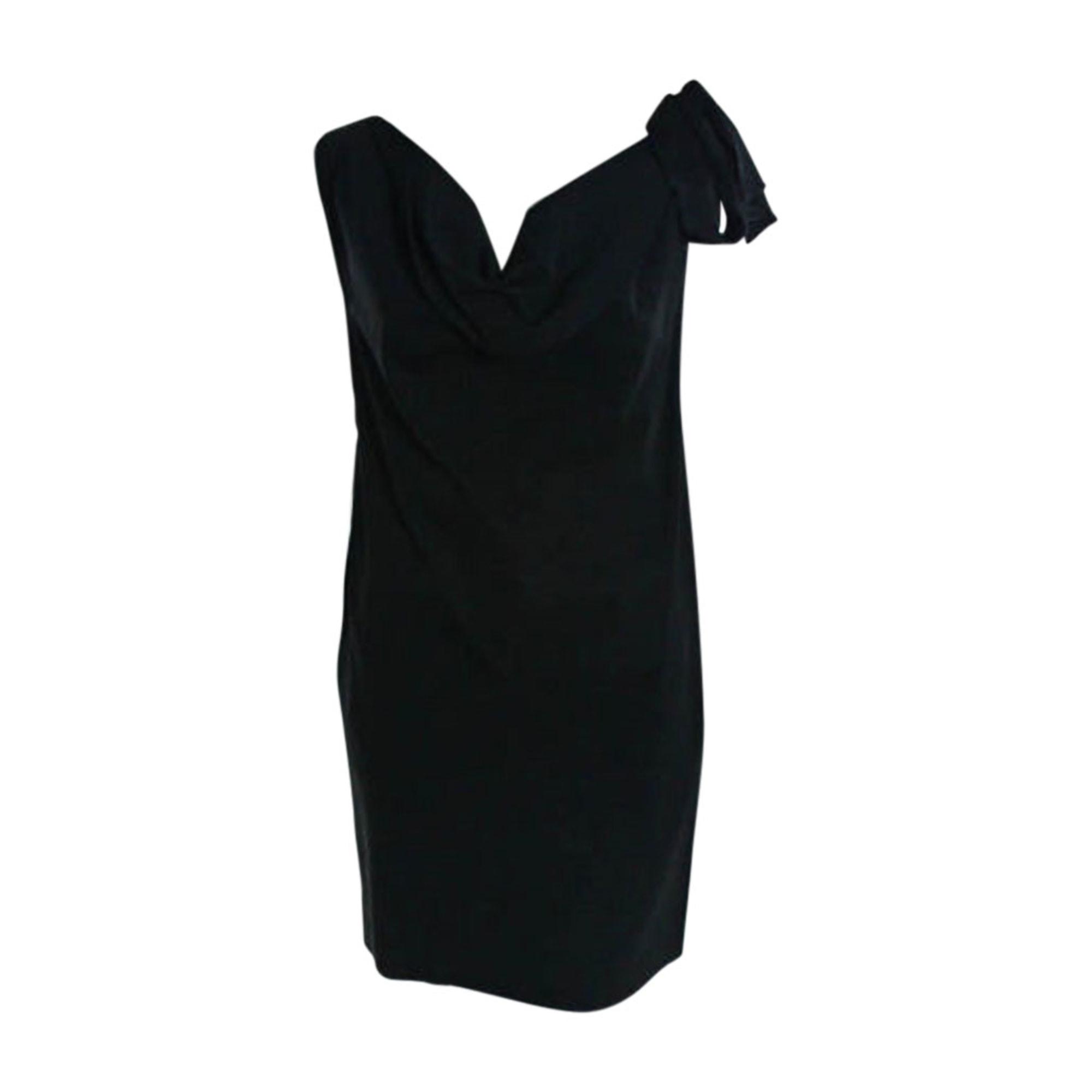 Robe courte MOSCHINO Noir
