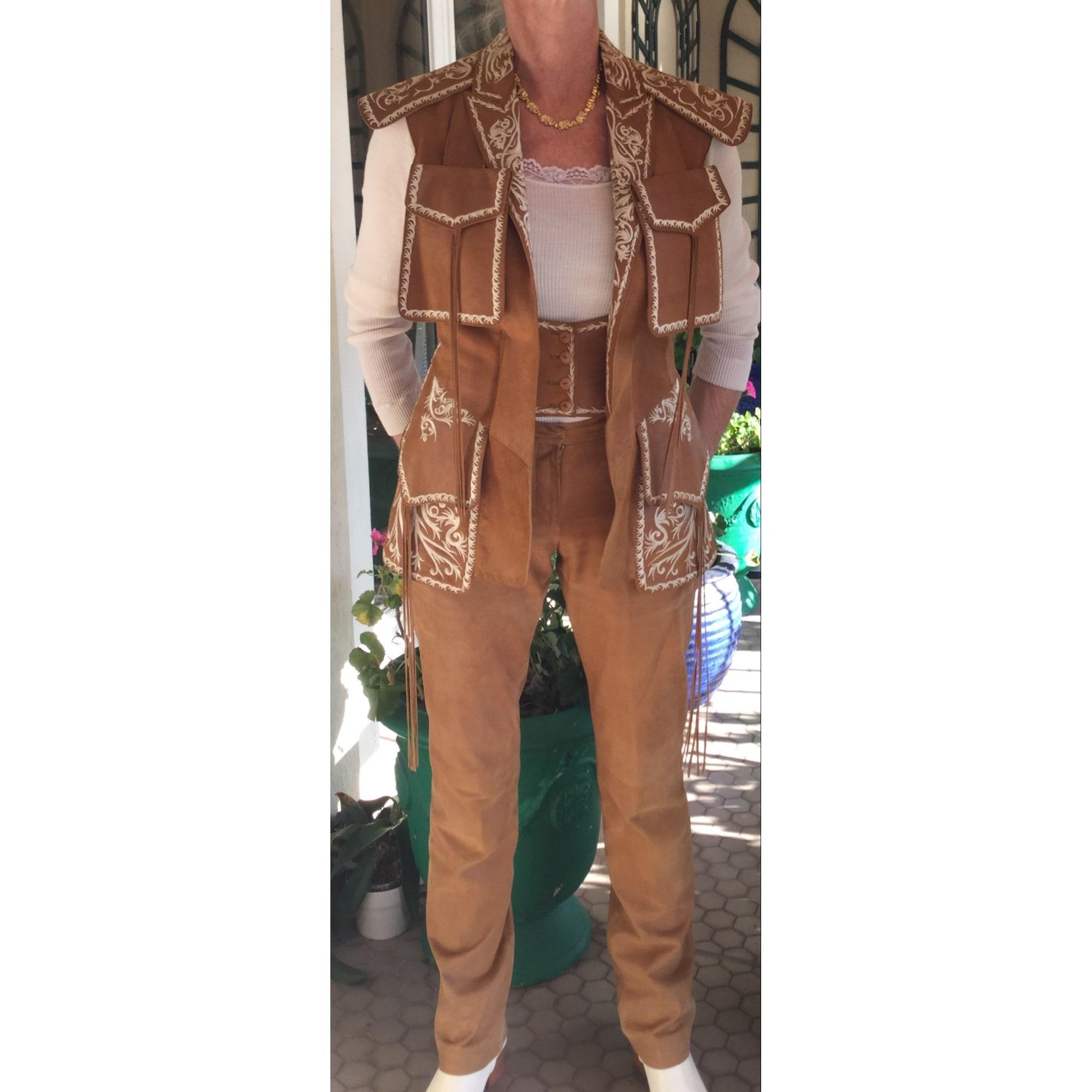 Tailleur pantalon KENZO Beige, camel