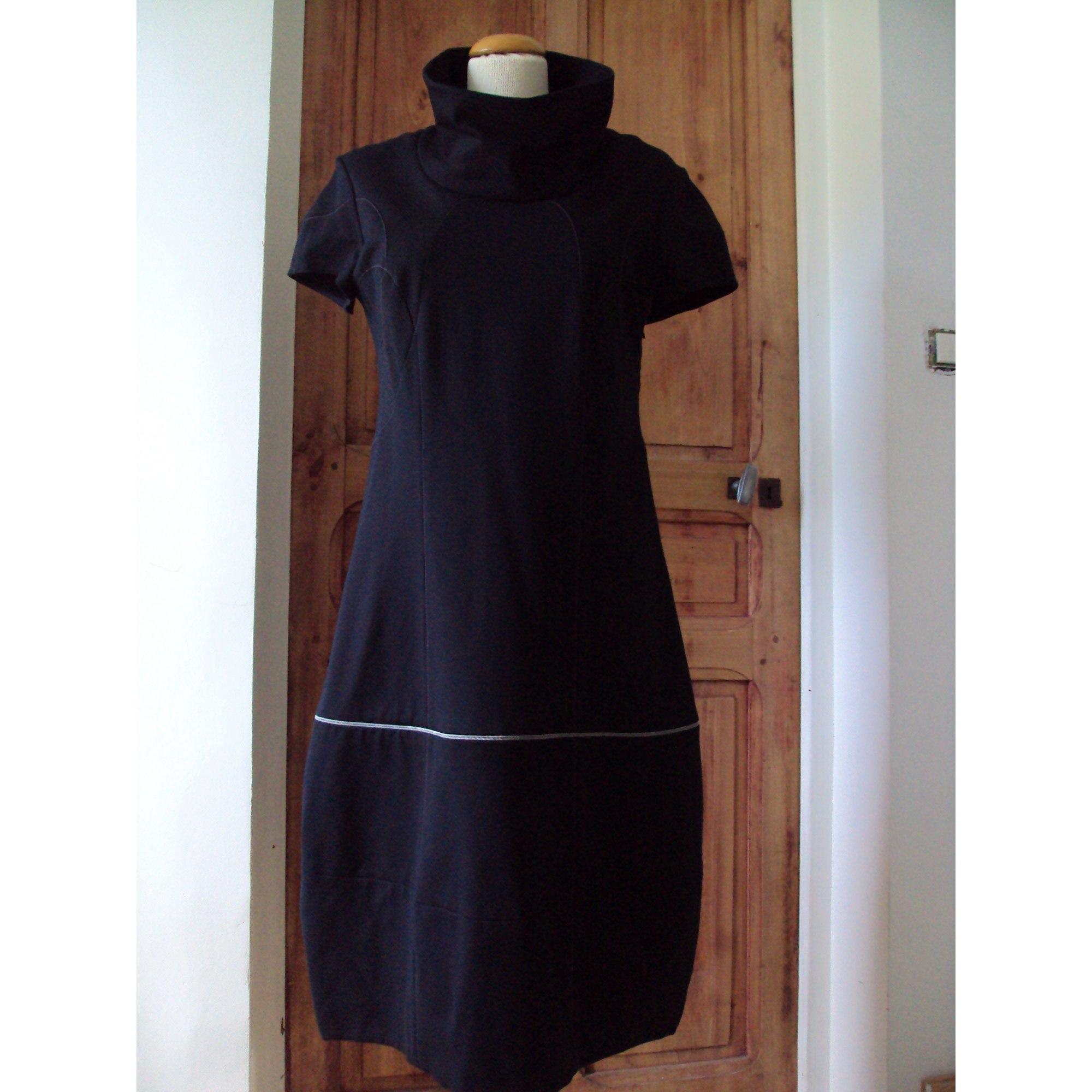 Robe mi-longue CHRISTINE LAURE Noir